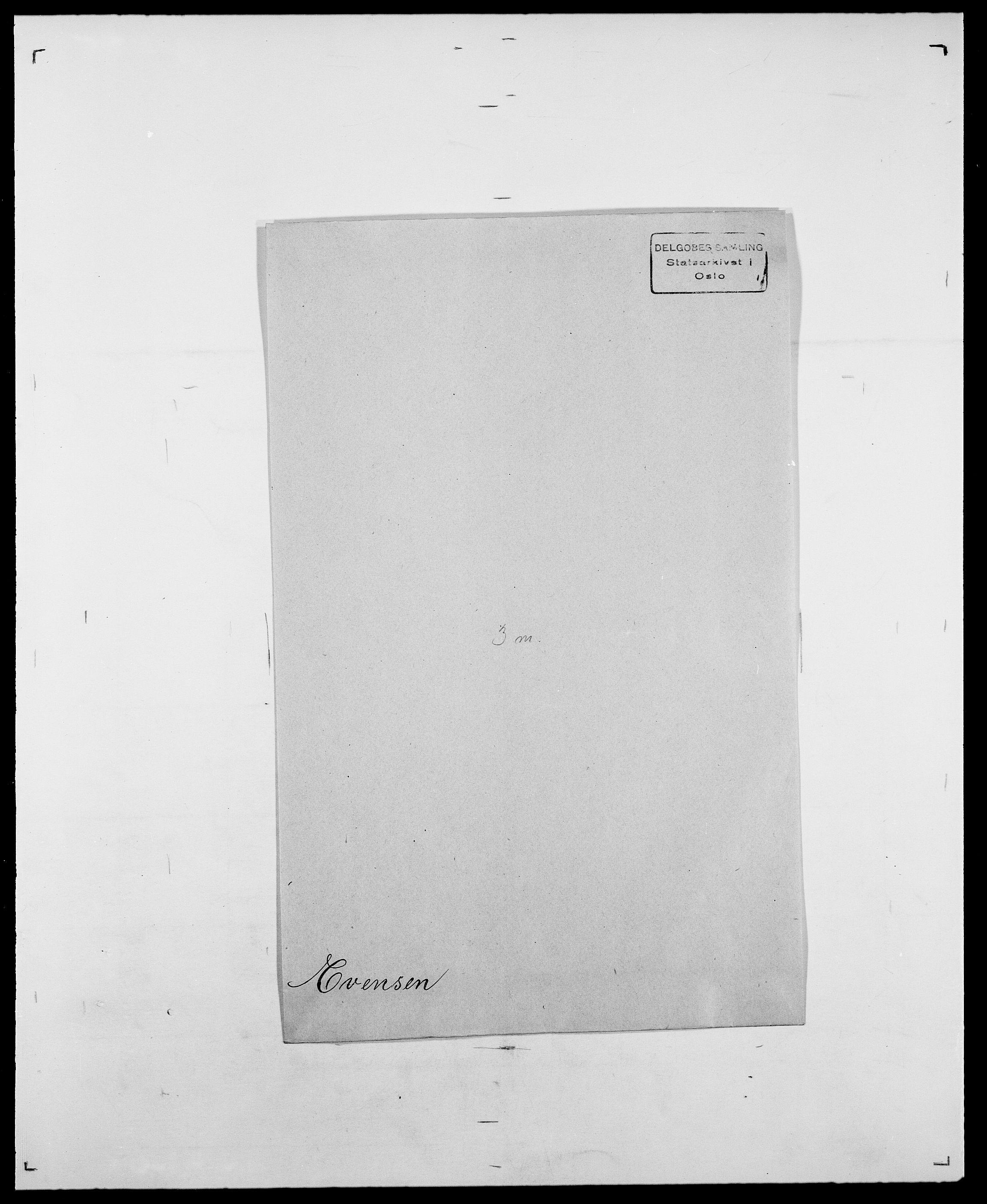 SAO, Delgobe, Charles Antoine - samling, D/Da/L0010: Dürendahl - Fagelund, s. 679