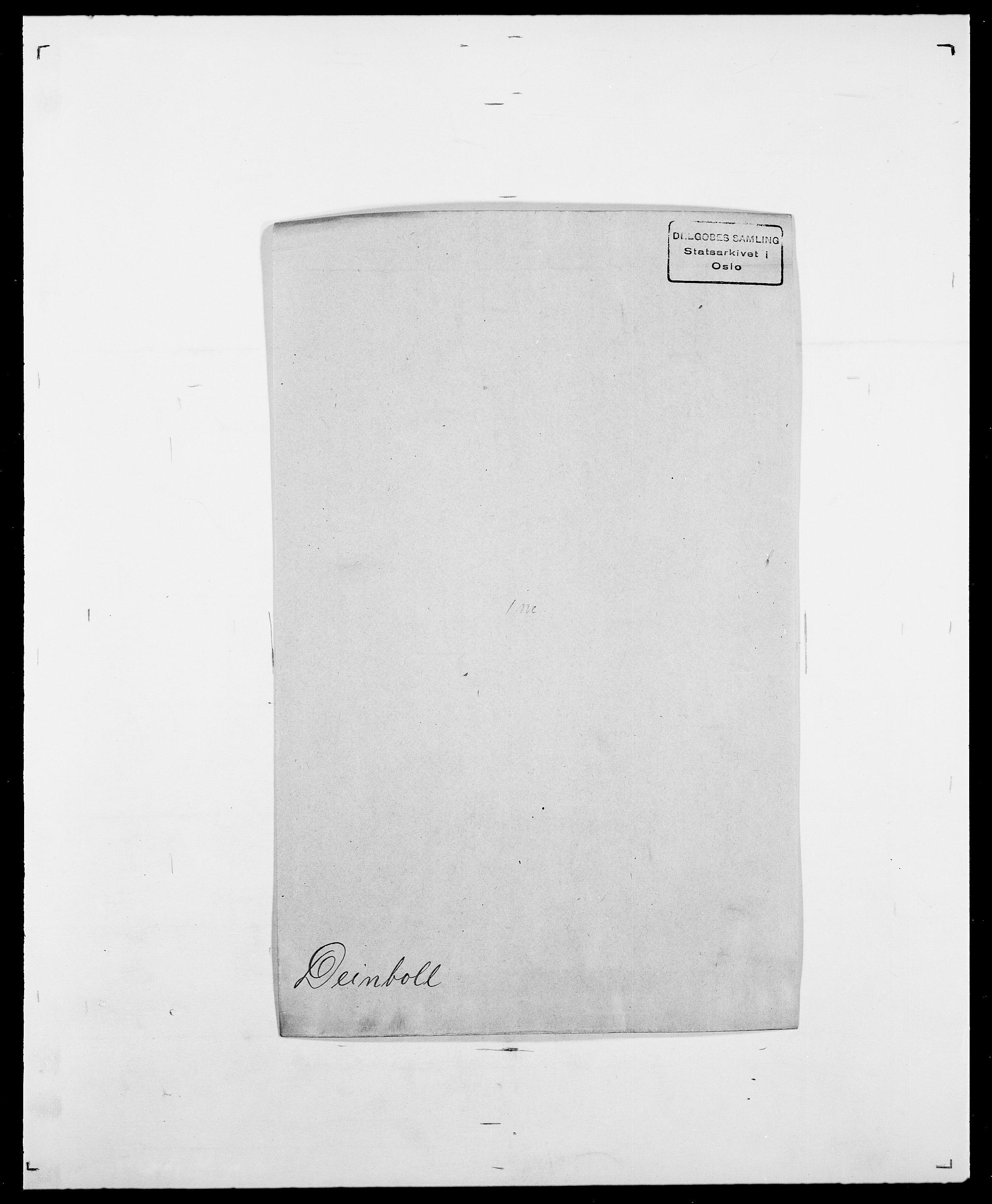 SAO, Delgobe, Charles Antoine - samling, D/Da/L0009: Dahl - v. Düren, s. 458
