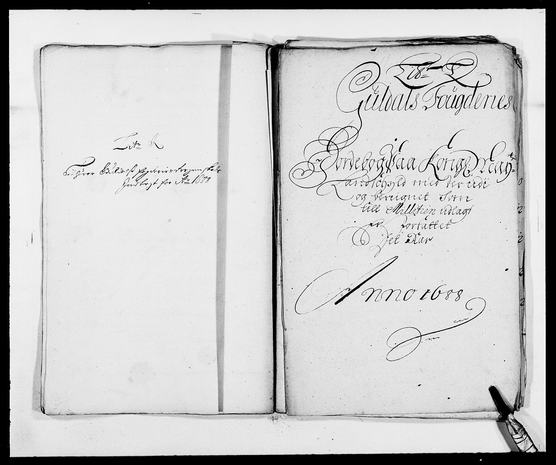 RA, Rentekammeret inntil 1814, Reviderte regnskaper, Fogderegnskap, R59/L3939: Fogderegnskap Gauldal, 1687-1688, s. 259
