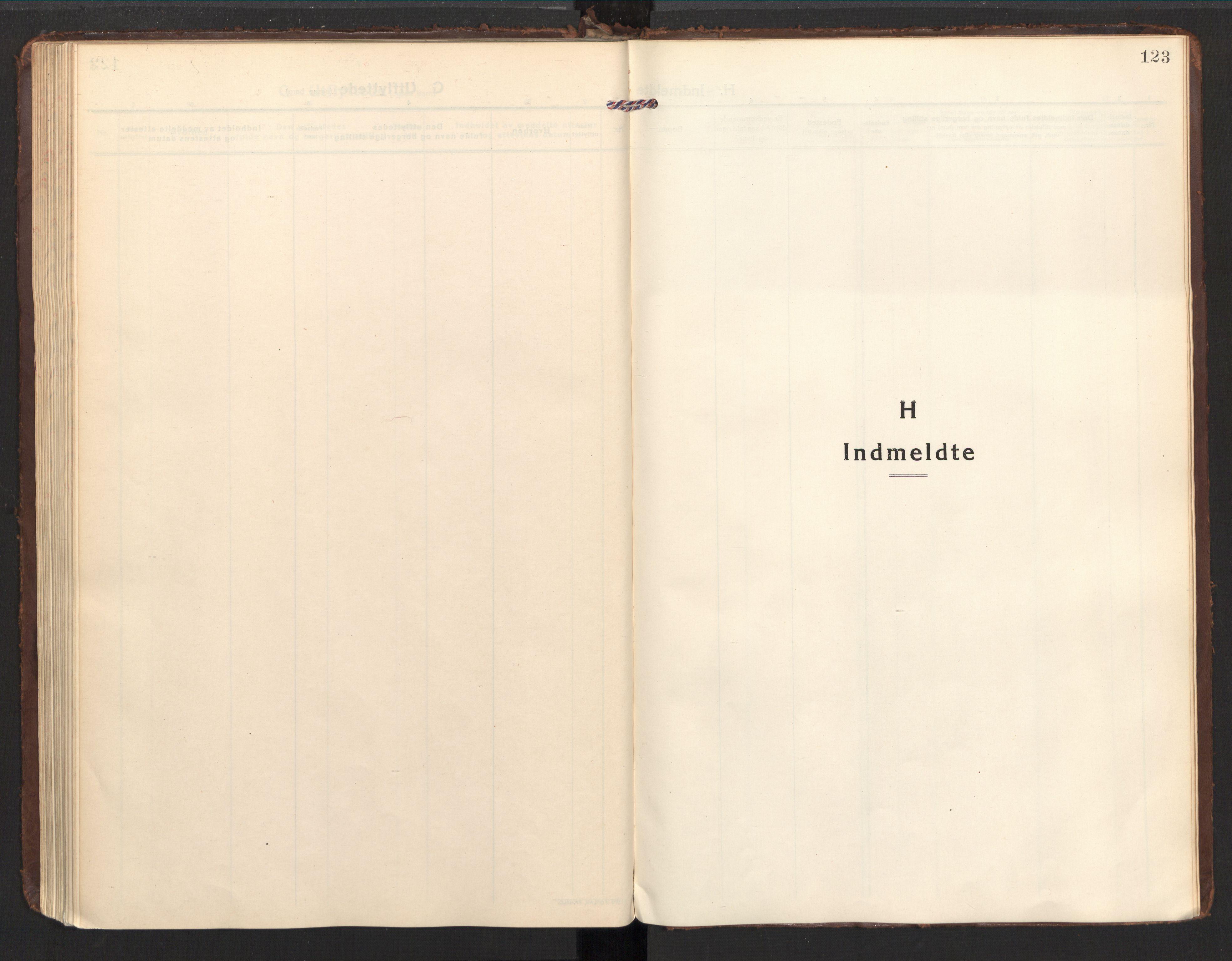 SAT, Ministerialprotokoller, klokkerbøker og fødselsregistre - Nordland, 857/L0825: Ministerialbok nr. 857A05, 1917-1946, s. 123