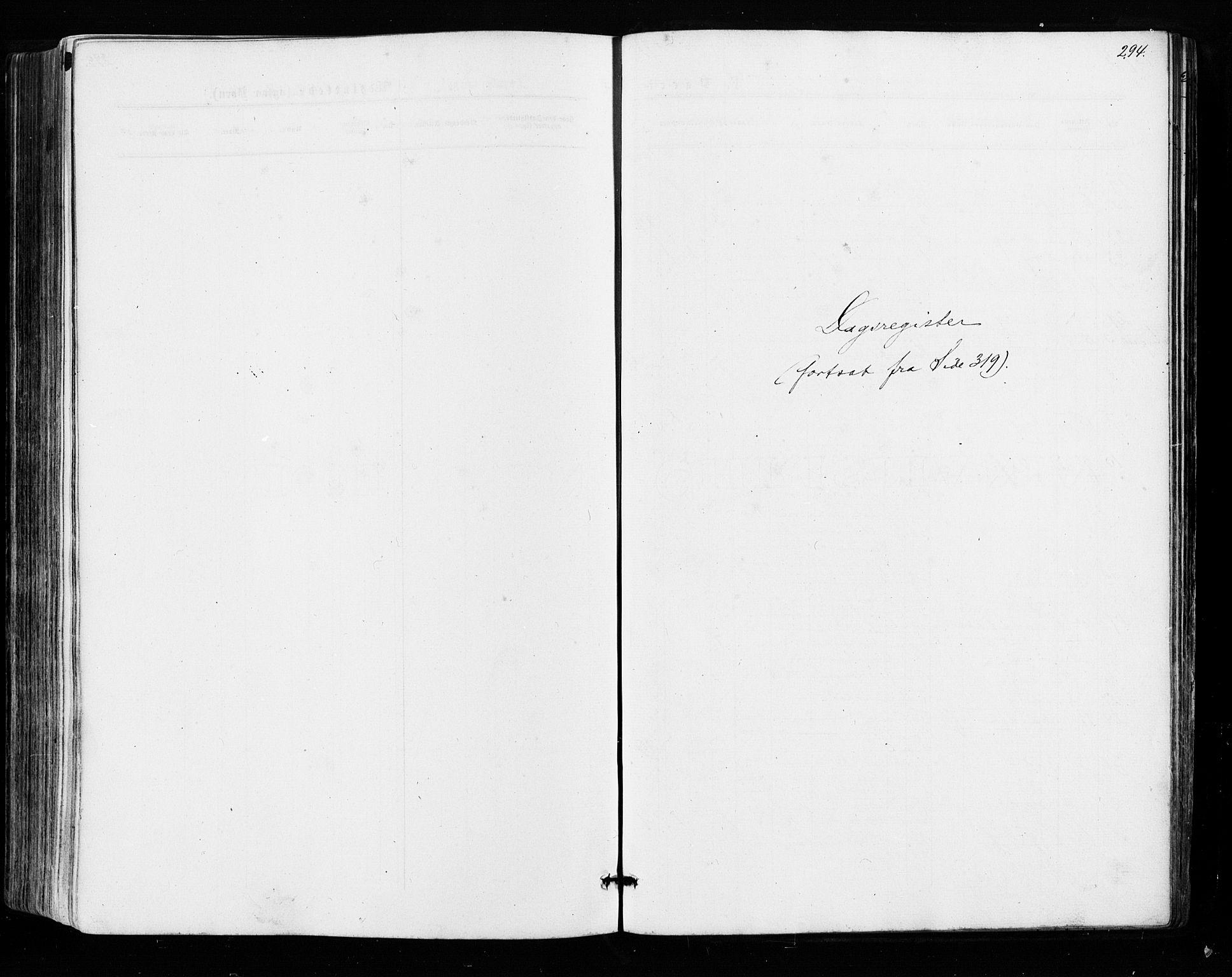 SAO, Sarpsborg prestekontor Kirkebøker, F/Fa/L0002: Ministerialbok nr. 2, 1869-1877, s. 294