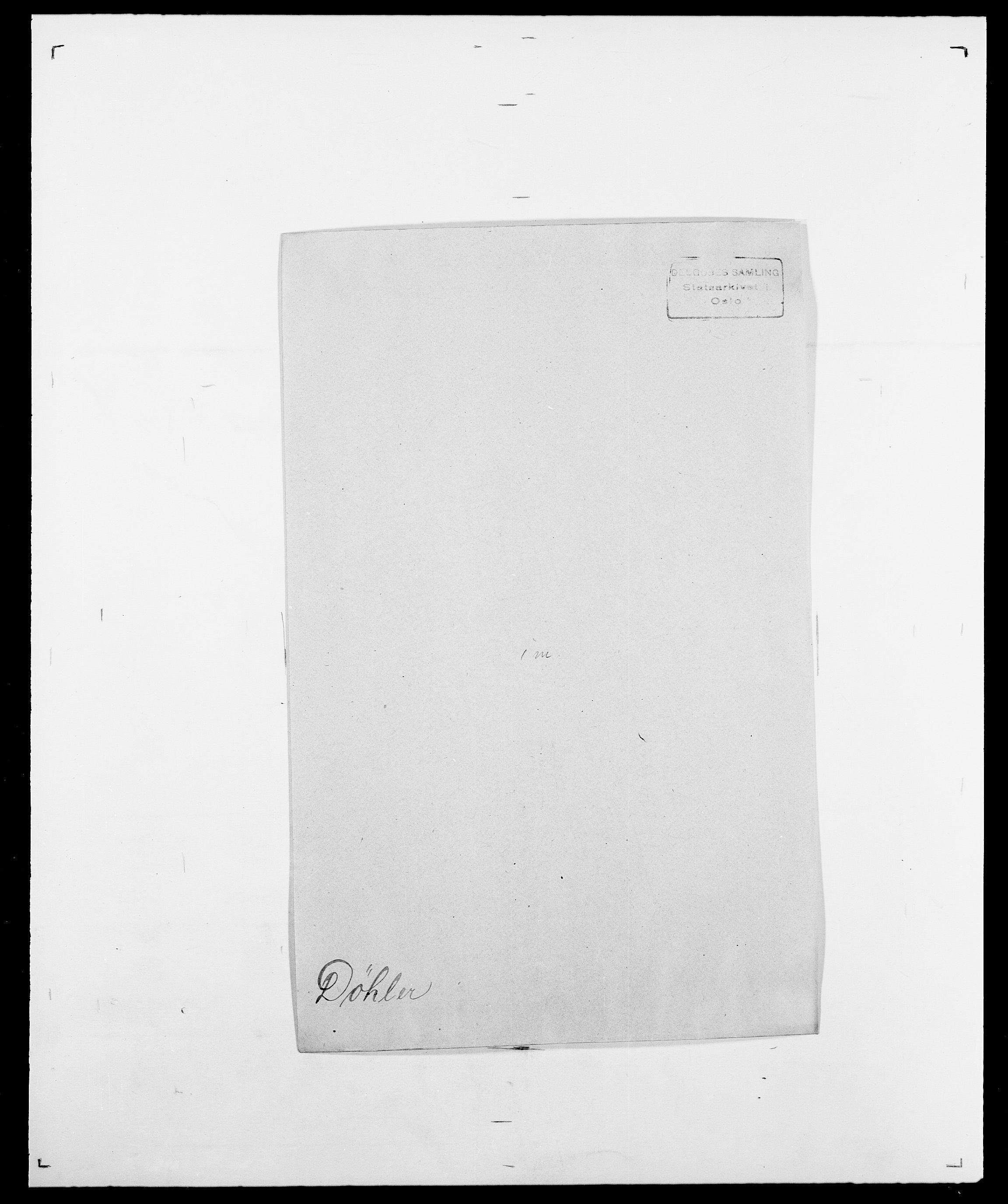 SAO, Delgobe, Charles Antoine - samling, D/Da/L0010: Dürendahl - Fagelund, s. 47