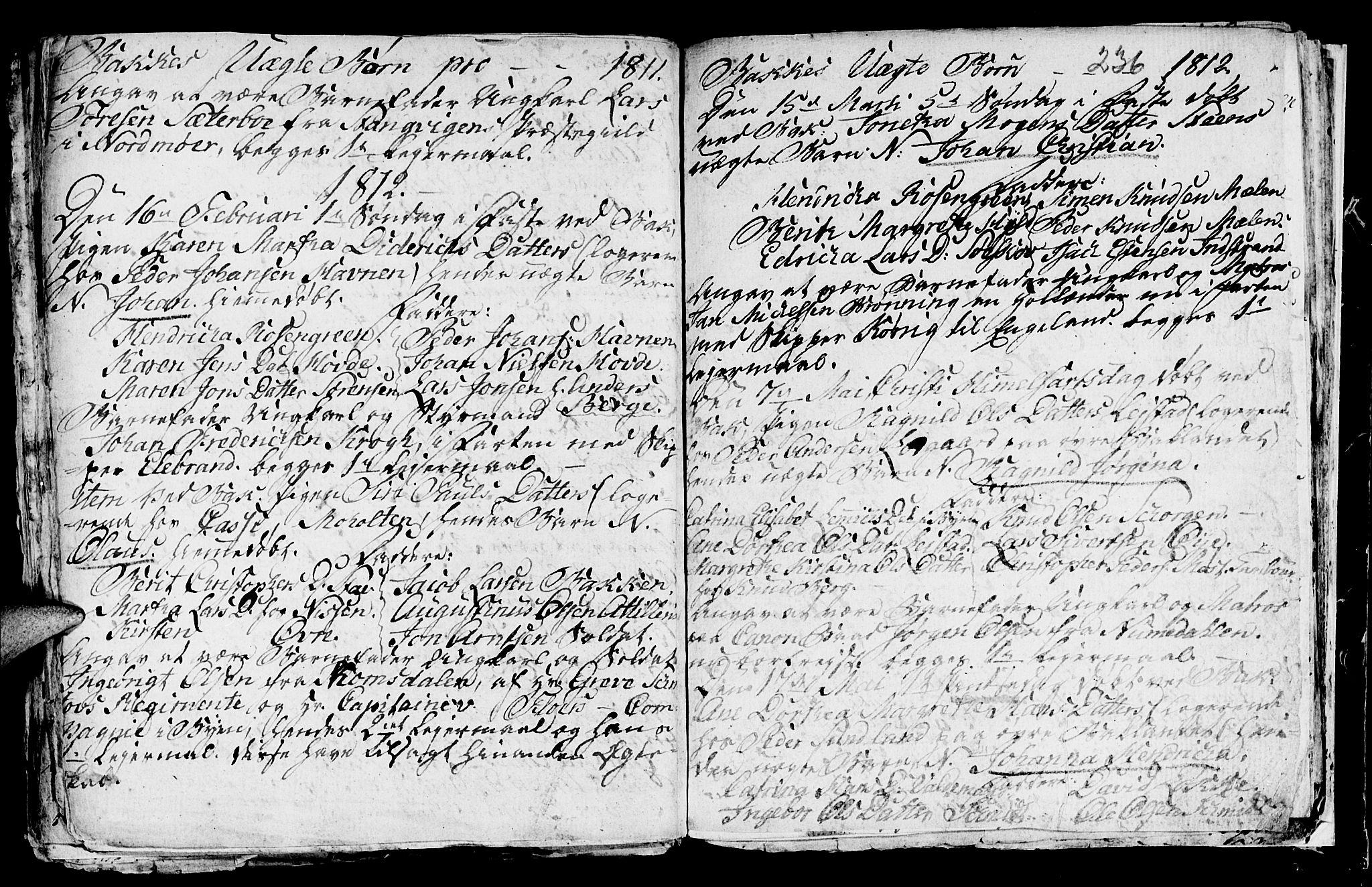 SAT, Ministerialprotokoller, klokkerbøker og fødselsregistre - Sør-Trøndelag, 604/L0218: Klokkerbok nr. 604C01, 1754-1819, s. 236
