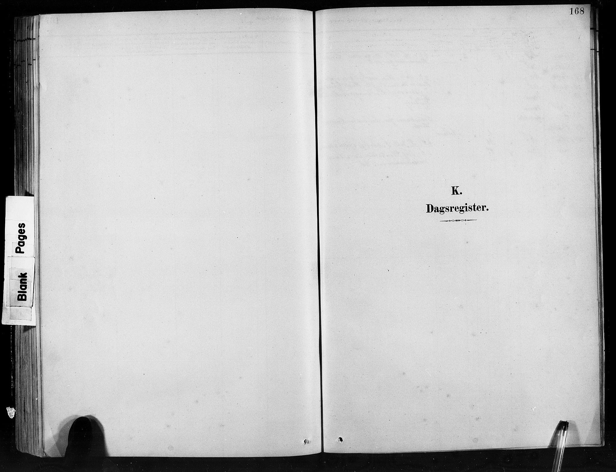 SAB, Jostedal sokneprestembete, H/Hab/Habb/L0001: Klokkerbok nr. B 1, 1882-1921, s. 168