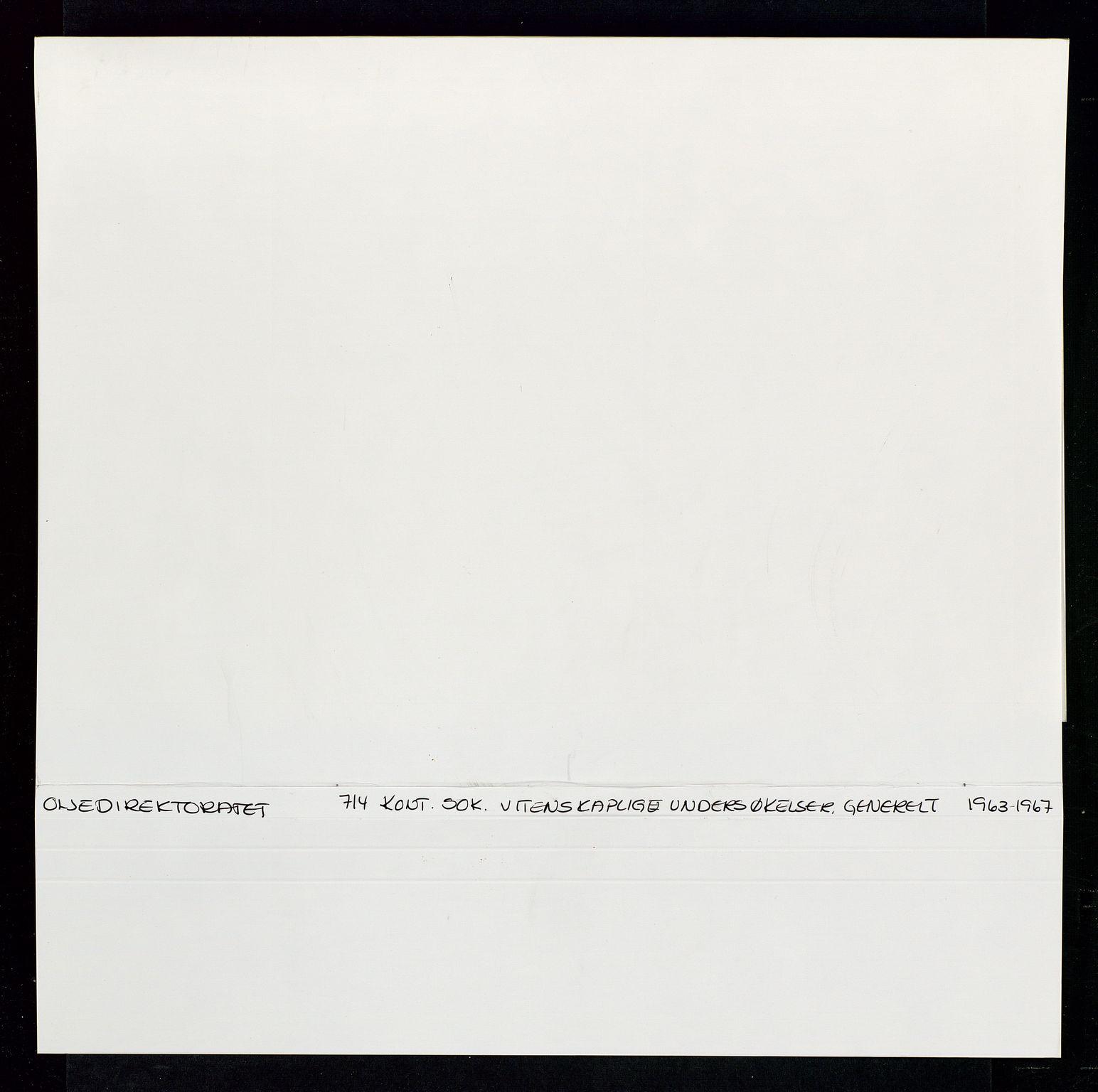 SAST, Industridepartementet, Oljekontoret, Da/L0006:  Arkivnøkkel 714 Vitenskapelige undersøkelser, 1963-1973, s. 634