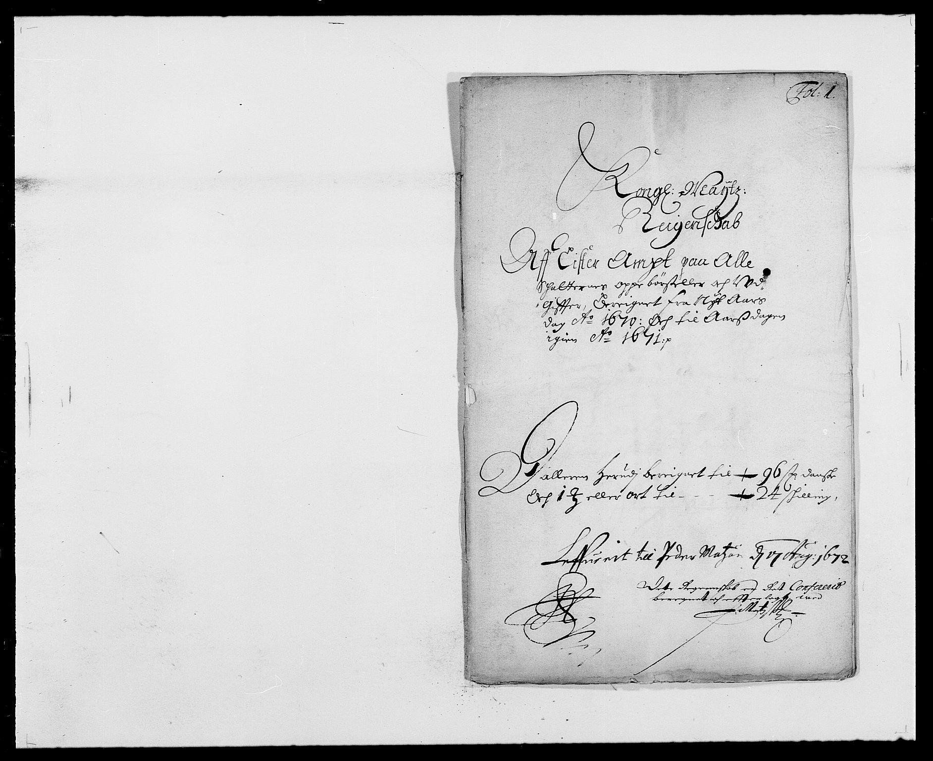 RA, Rentekammeret inntil 1814, Reviderte regnskaper, Fogderegnskap, R41/L2525: Fogderegnskap Lista, 1669-1671, s. 78