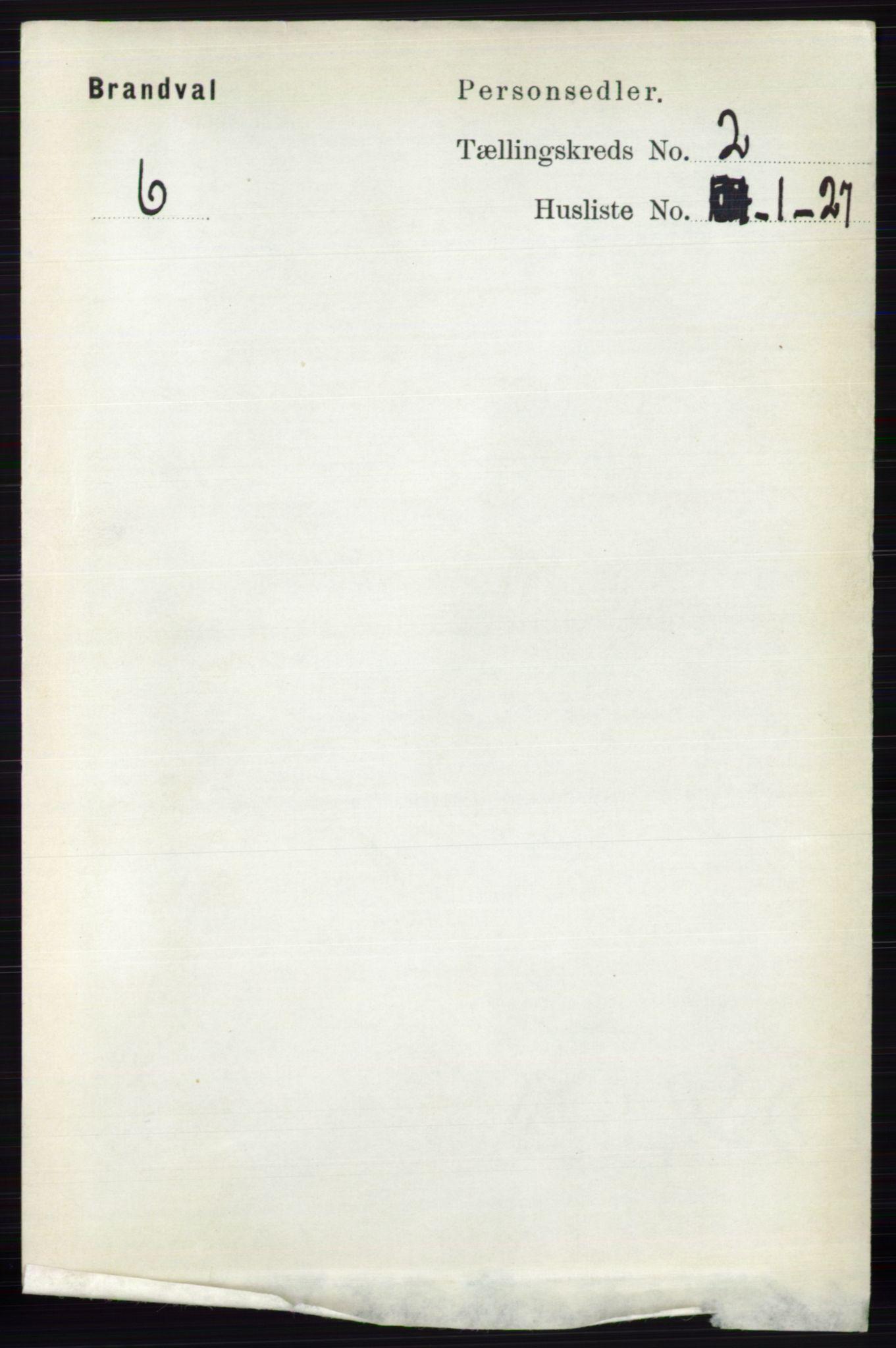 RA, Folketelling 1891 for 0422 Brandval herred, 1891, s. 740