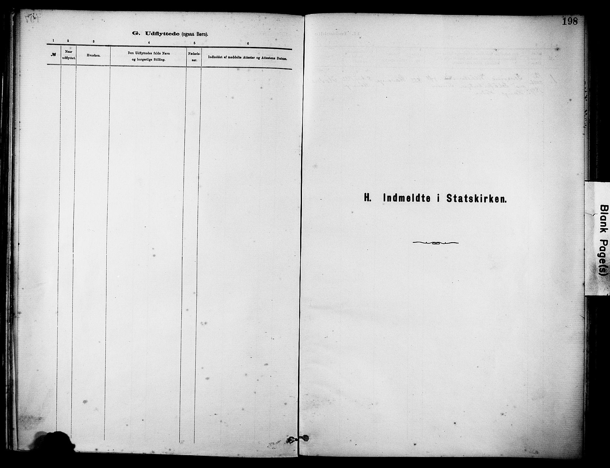 SAST, Rennesøy sokneprestkontor, H/Ha/Haa/L0012: Ministerialbok nr. A 13, 1885-1917, s. 198