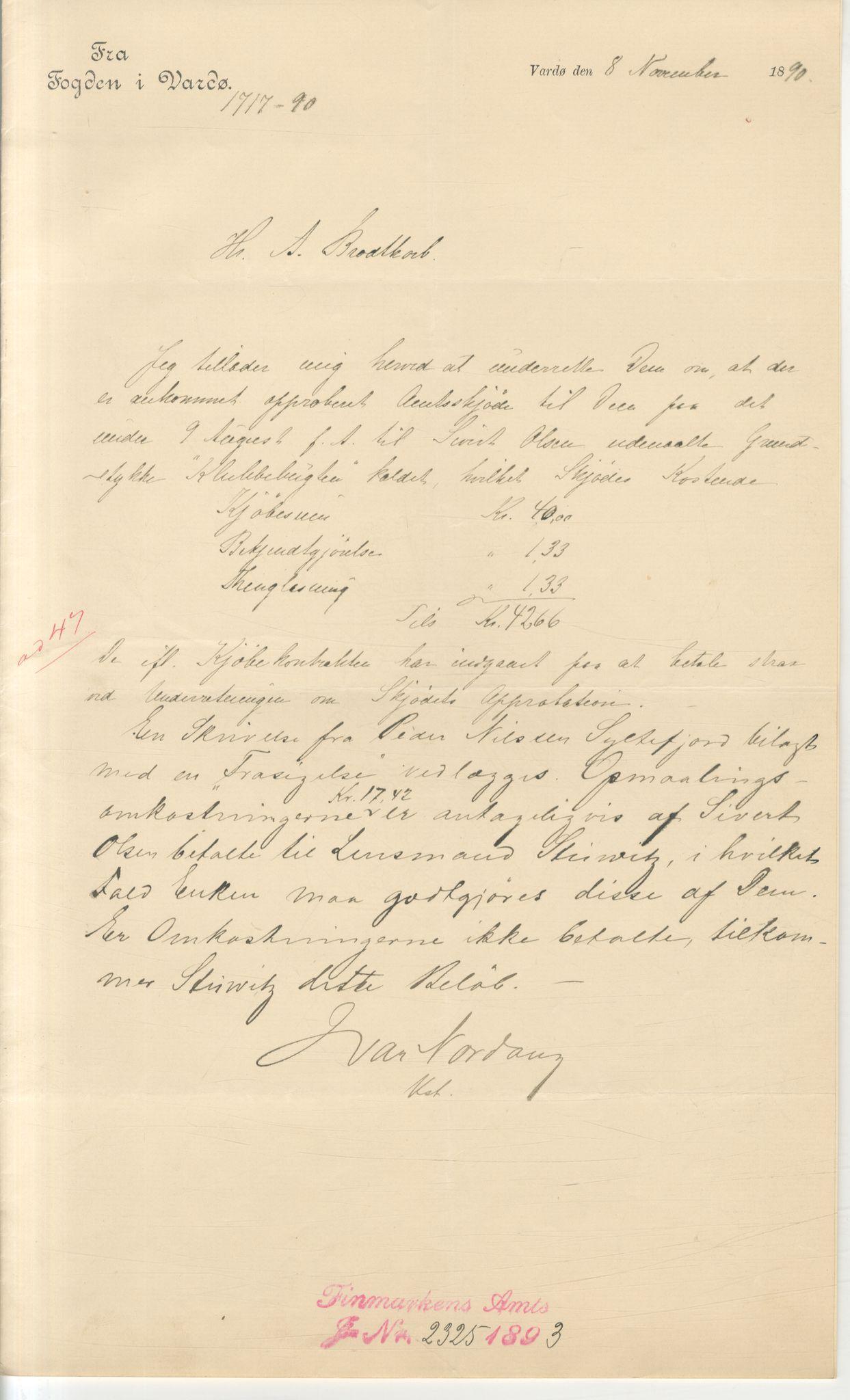 VAMU, Brodtkorb handel A/S, Q/Qb/L0003: Faste eiendommer i Vardø Herred, 1862-1939, s. 297