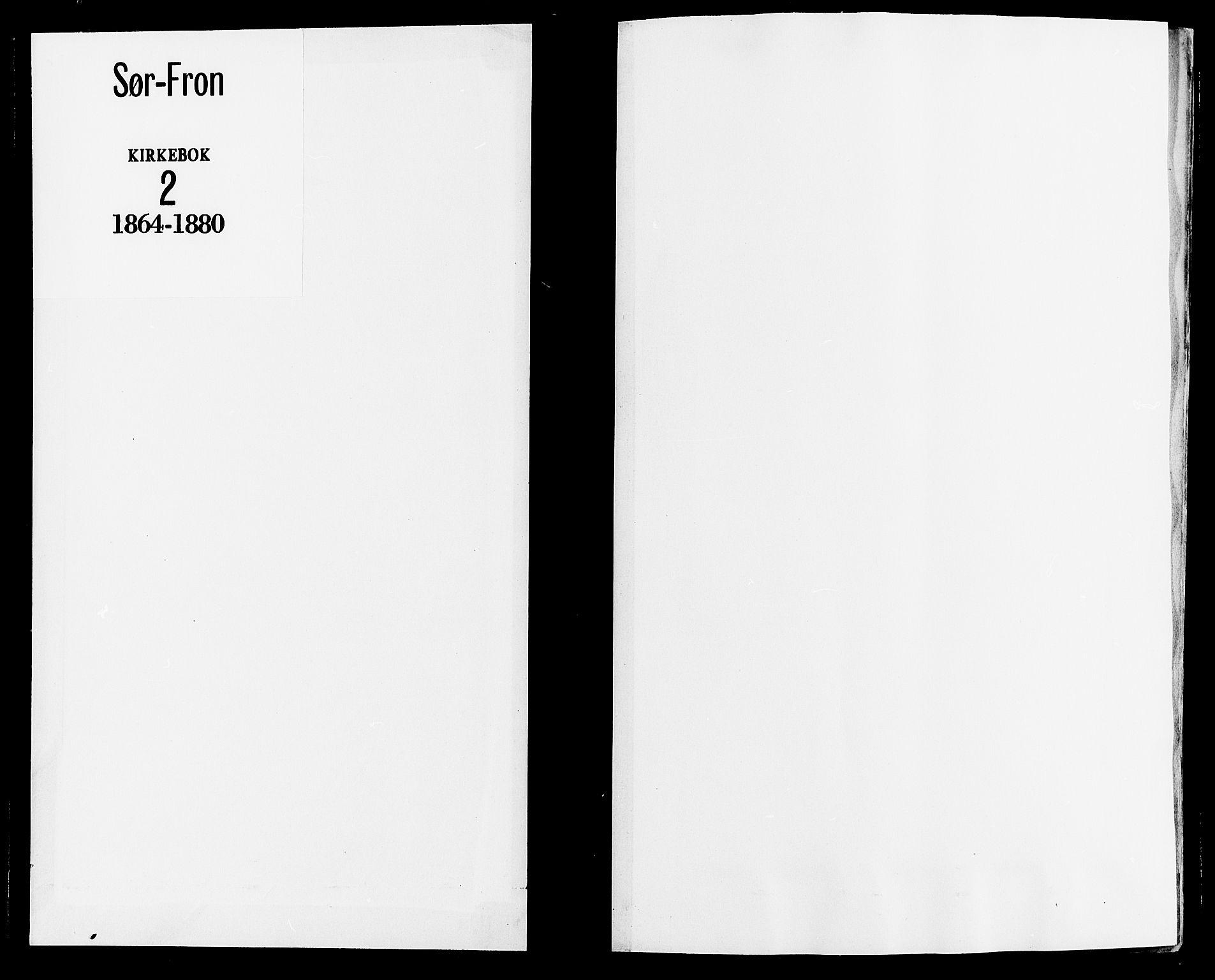 SAH, Sør-Fron prestekontor, H/Ha/Haa/L0002: Ministerialbok nr. 2, 1864-1880