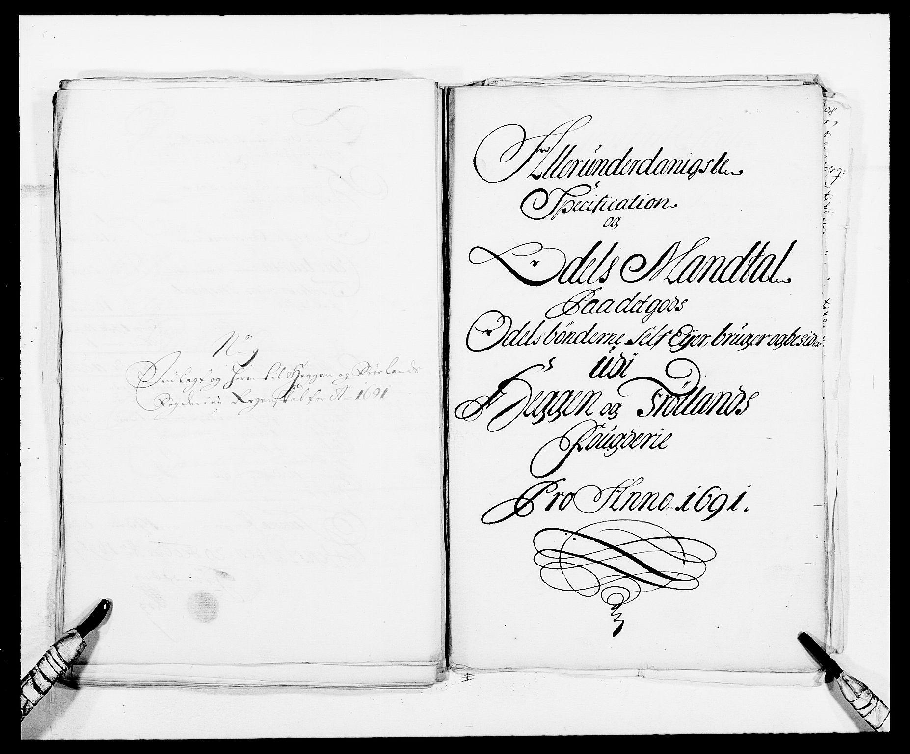 RA, Rentekammeret inntil 1814, Reviderte regnskaper, Fogderegnskap, R06/L0283: Fogderegnskap Heggen og Frøland, 1691-1693, s. 100