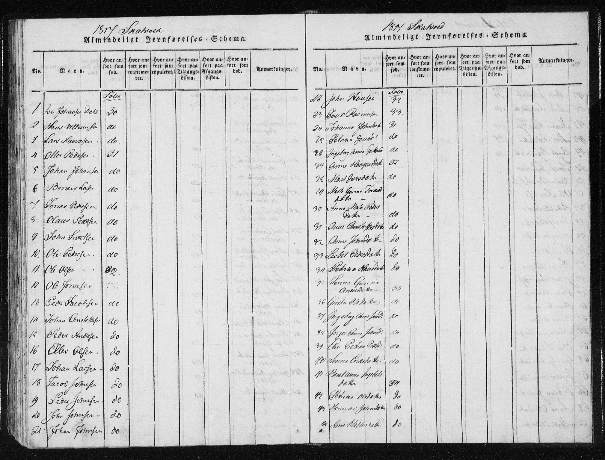 SAT, Ministerialprotokoller, klokkerbøker og fødselsregistre - Nord-Trøndelag, 709/L0061: Ministerialbok nr. 709A08 /2, 1815-1819