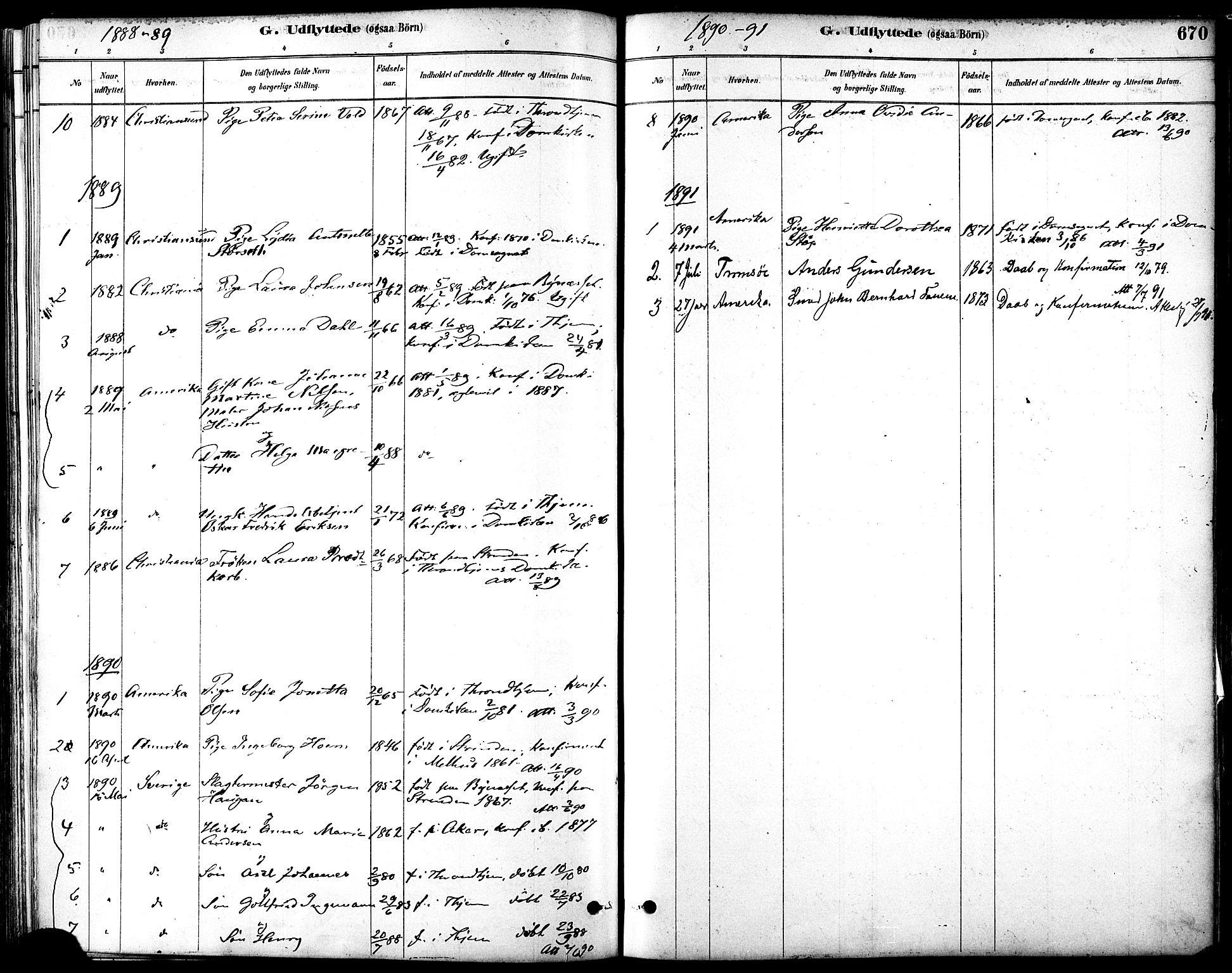 SAT, Ministerialprotokoller, klokkerbøker og fødselsregistre - Sør-Trøndelag, 601/L0058: Ministerialbok nr. 601A26, 1877-1891, s. 670