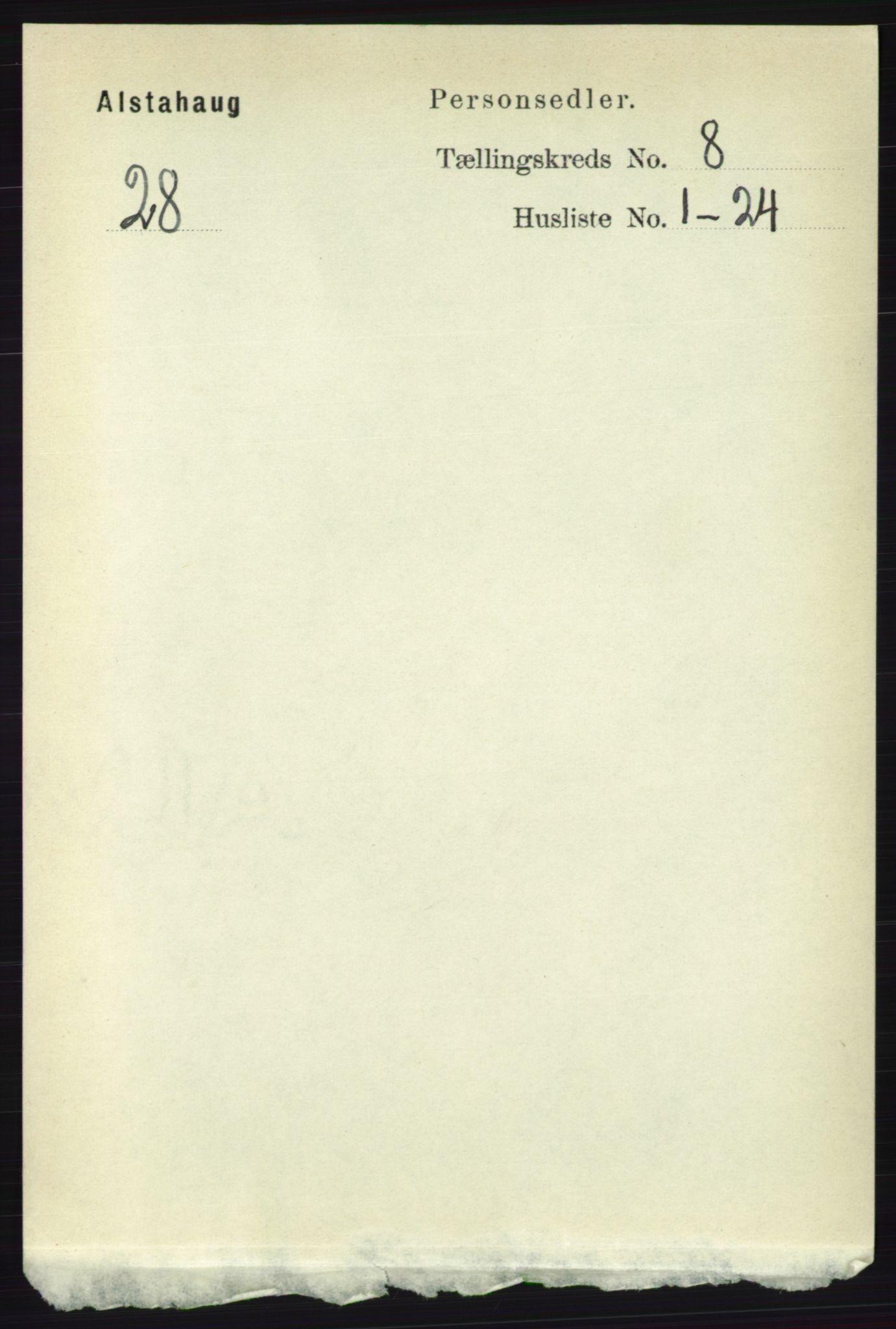RA, Folketelling 1891 for 1820 Alstahaug herred, 1891, s. 2904