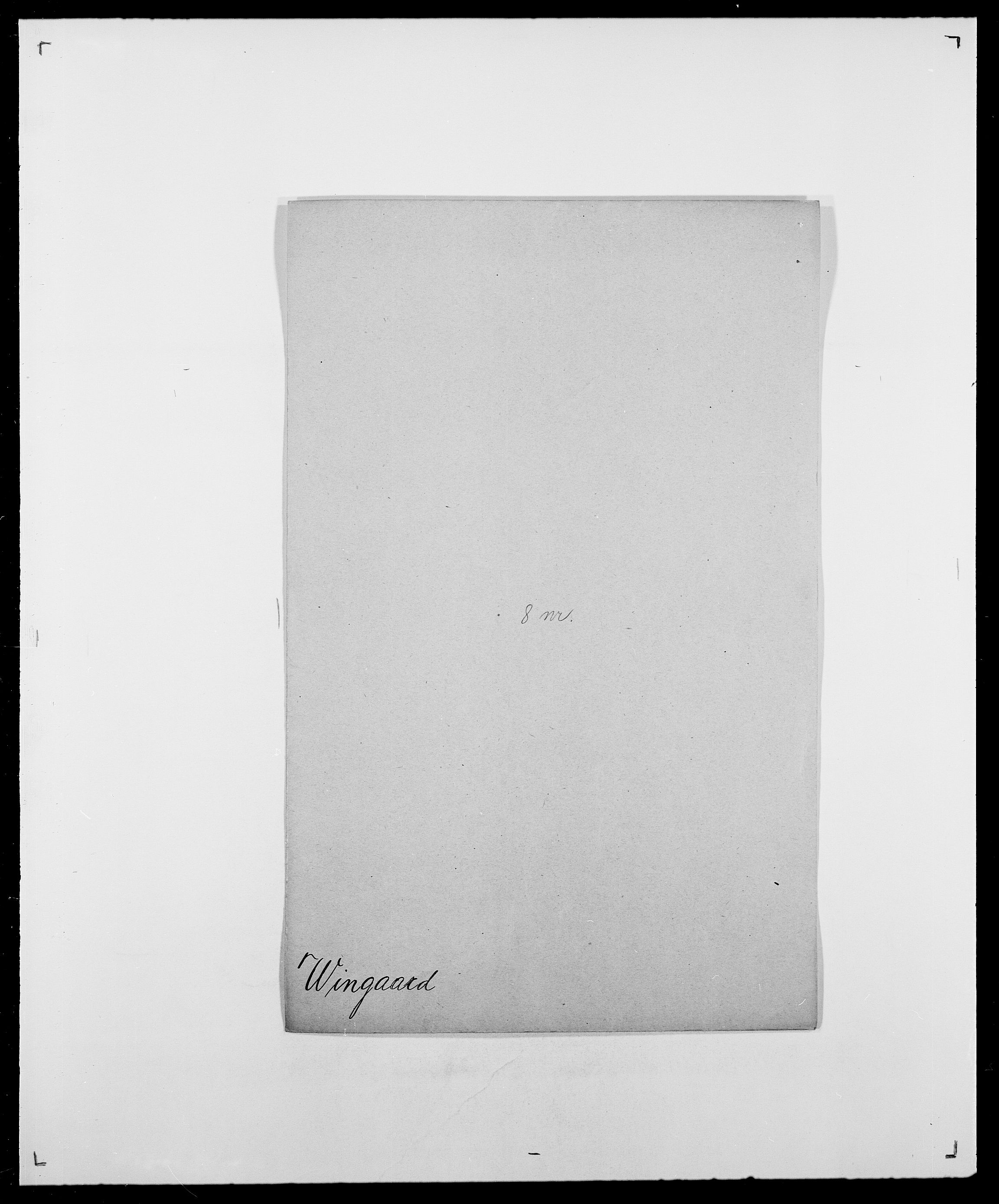 SAO, Delgobe, Charles Antoine - samling, D/Da/L0042: Vilain - Wulf, Wulff, se også Wolf, s. 173