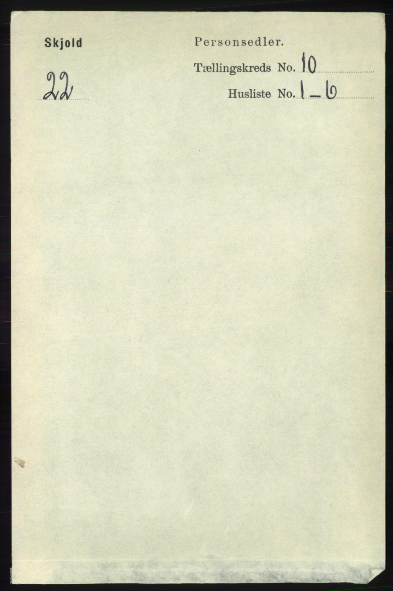 RA, Folketelling 1891 for 1154 Skjold herred, 1891, s. 1998