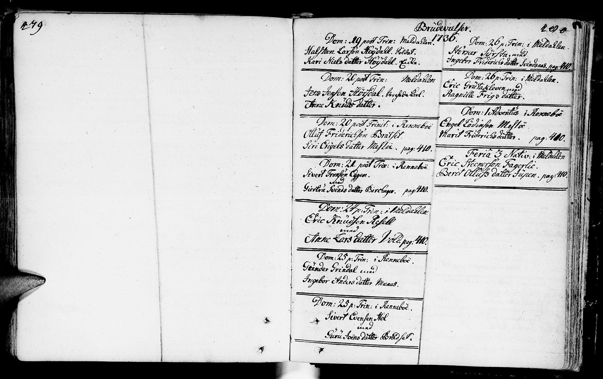 SAT, Ministerialprotokoller, klokkerbøker og fødselsregistre - Sør-Trøndelag, 672/L0850: Ministerialbok nr. 672A03, 1725-1751, s. 479-480