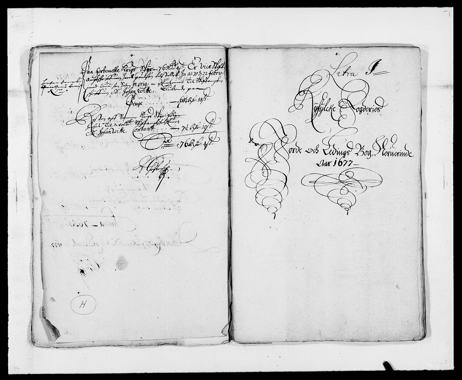 RA, Rentekammeret inntil 1814, Reviderte regnskaper, Fogderegnskap, R47/L2847: Fogderegnskap Ryfylke, 1677, s. 211