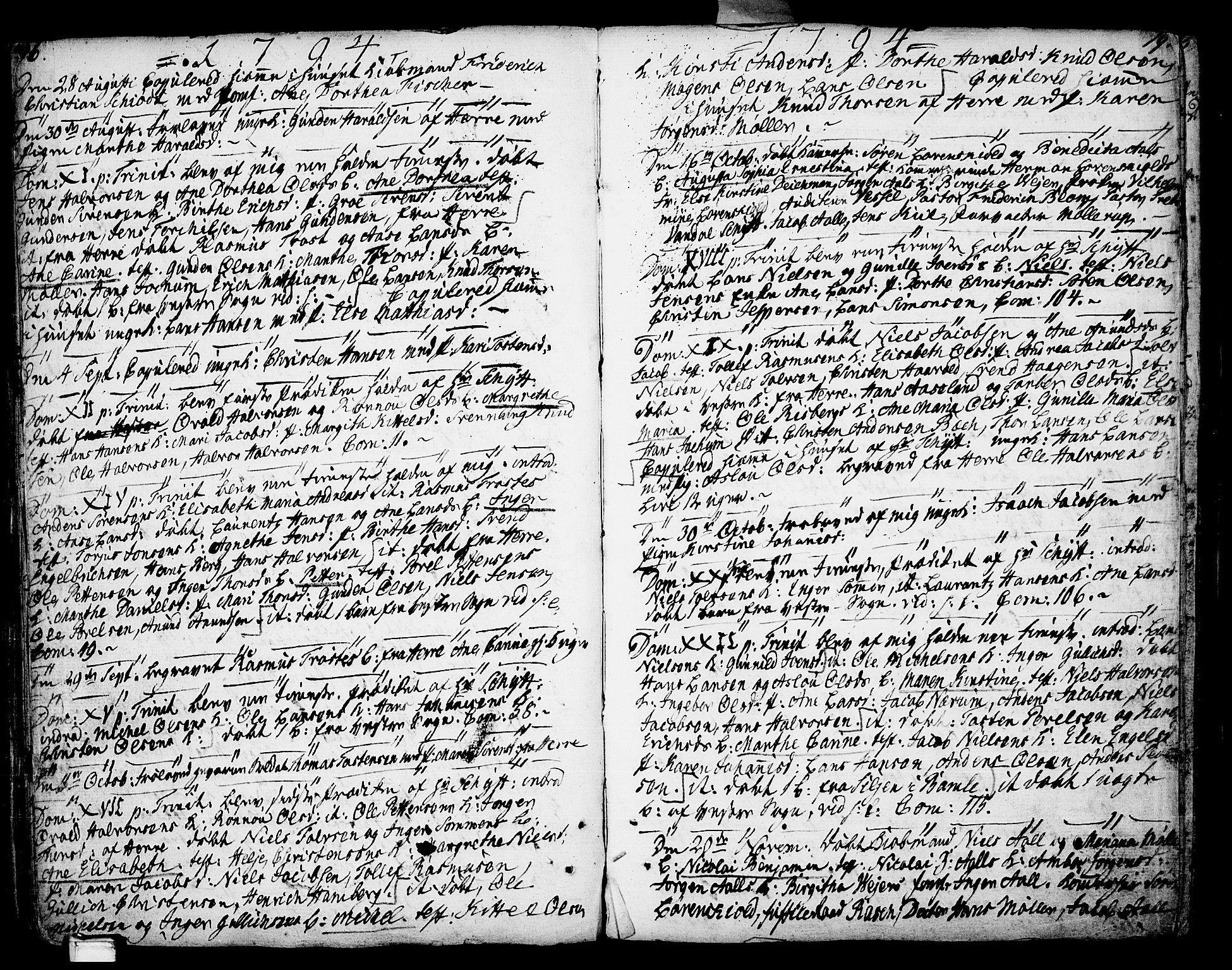 SAKO, Porsgrunn kirkebøker , F/Fa/L0002: Ministerialbok nr. 2, 1764-1814, s. 196-197