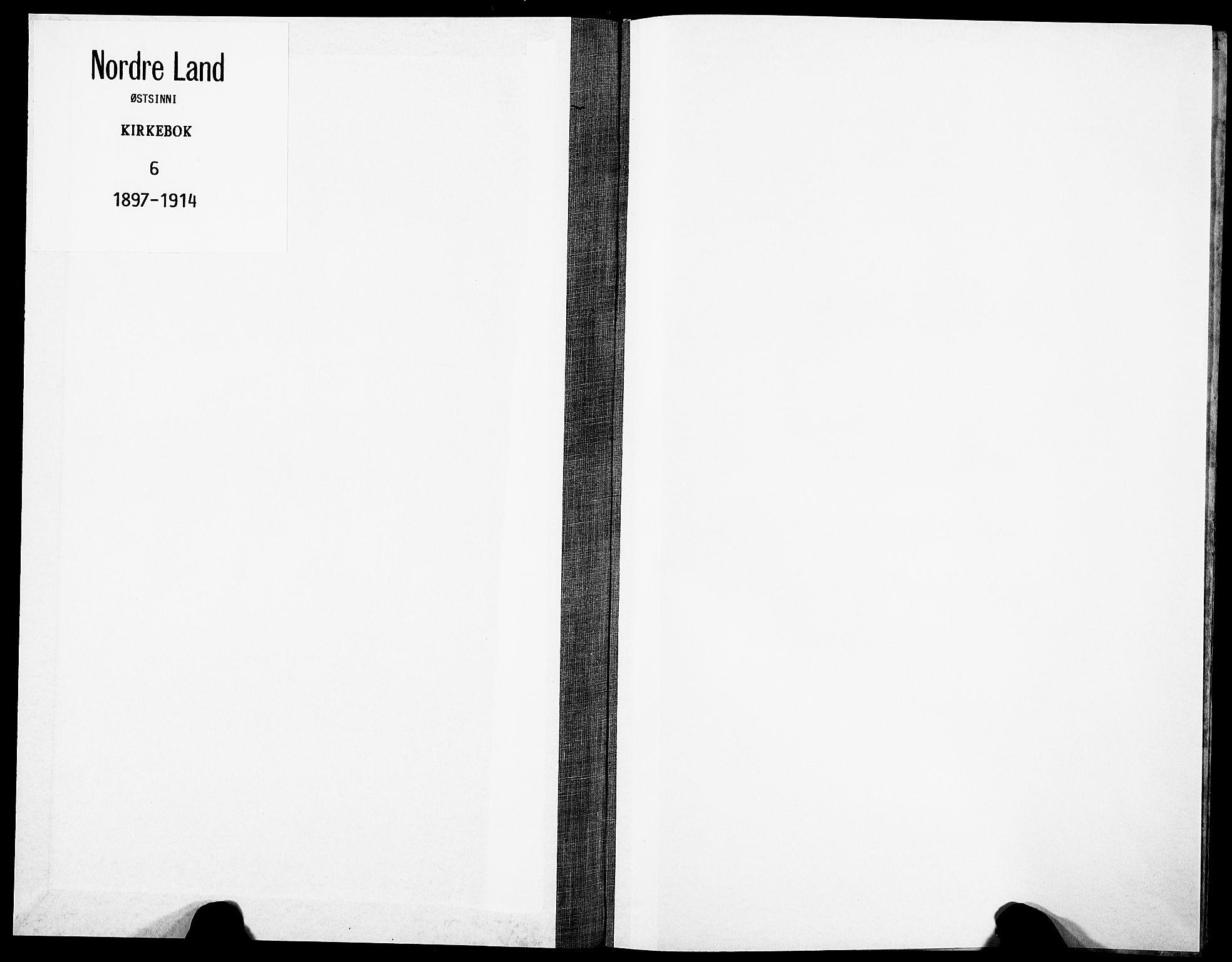 SAH, Nordre Land prestekontor, Ministerialbok nr. 6, 1897-1914