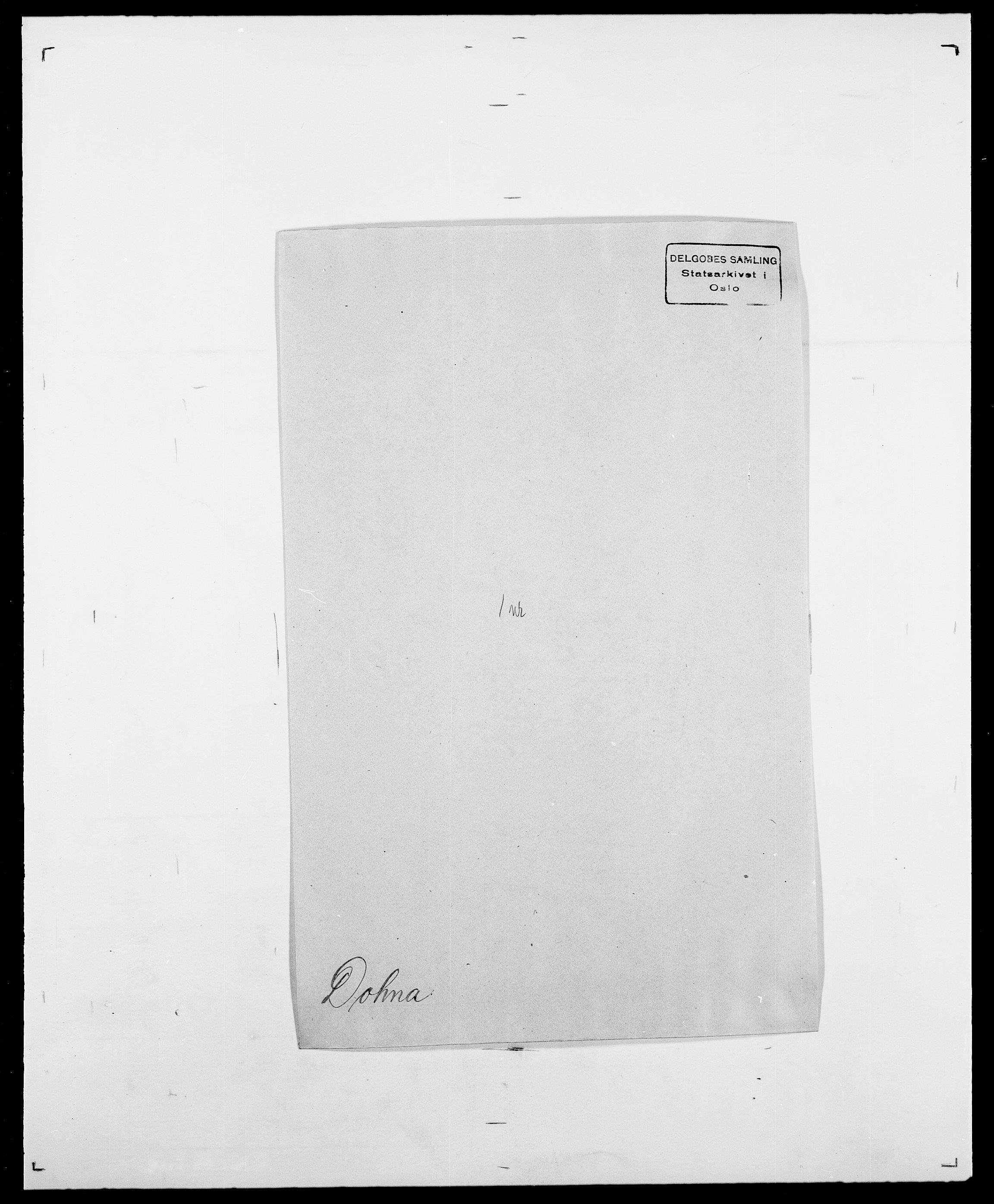 SAO, Delgobe, Charles Antoine - samling, D/Da/L0009: Dahl - v. Düren, s. 632