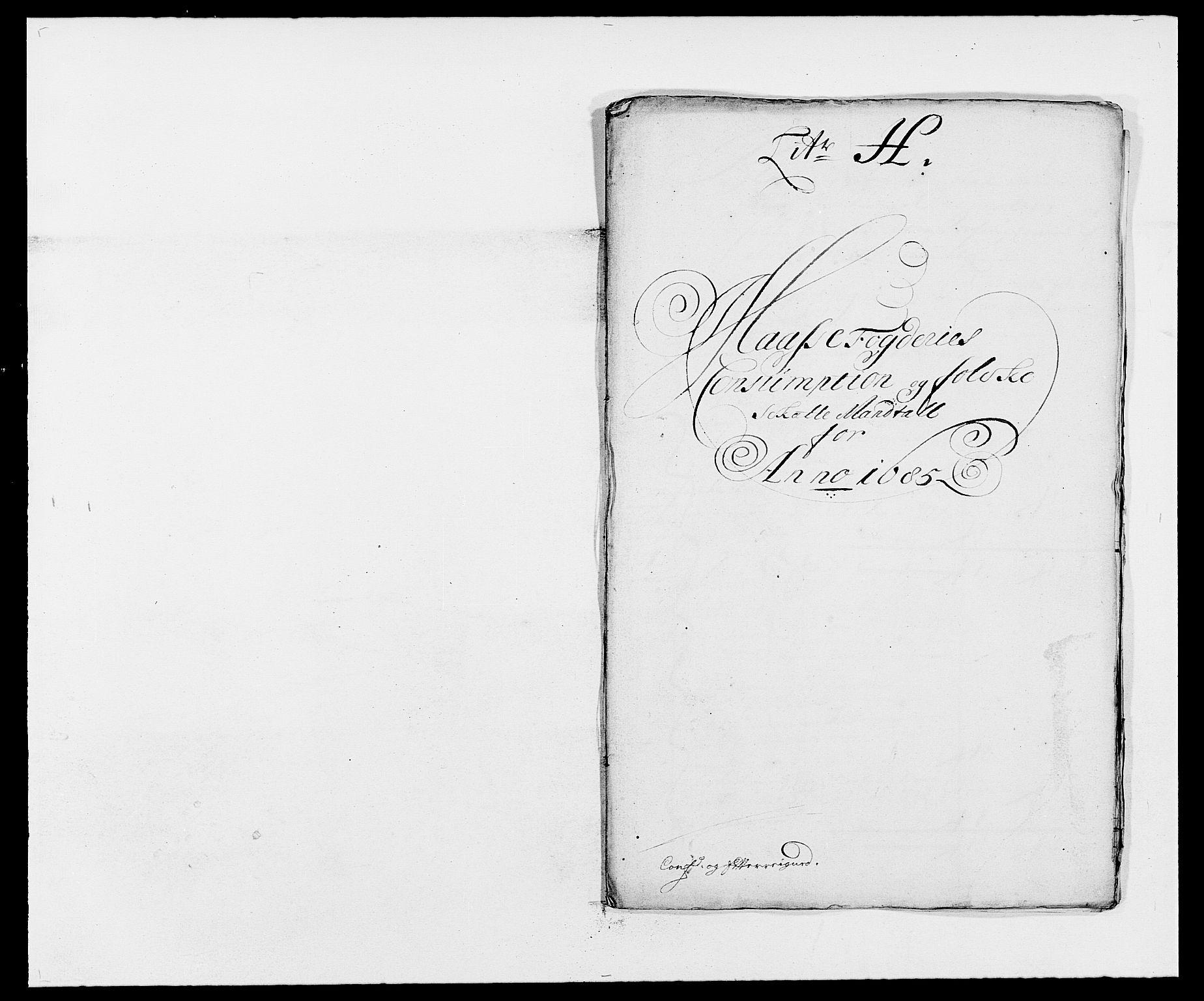 RA, Rentekammeret inntil 1814, Reviderte regnskaper, Fogderegnskap, R02/L0105: Fogderegnskap Moss og Verne kloster, 1685-1687, s. 99