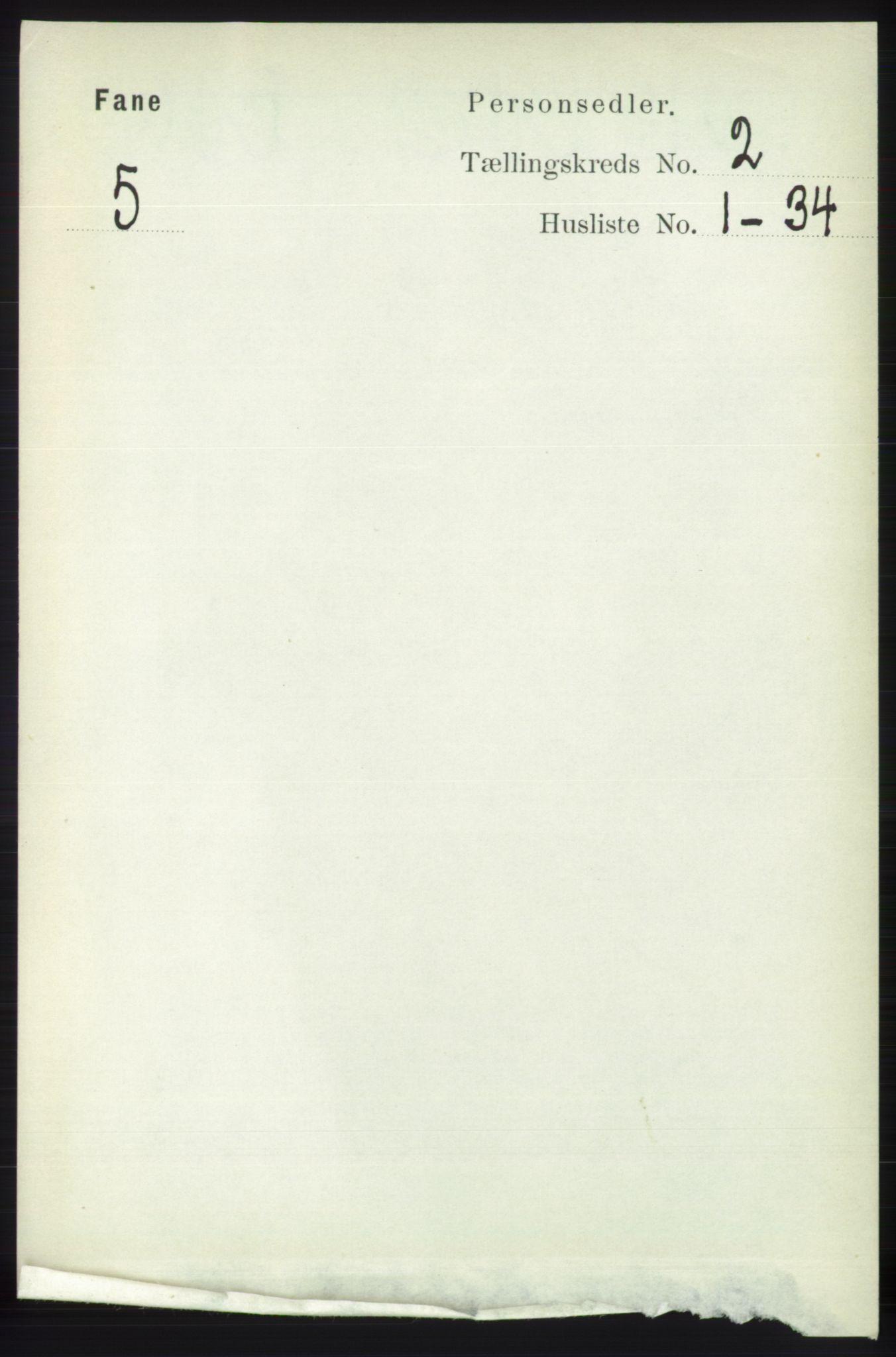 RA, Folketelling 1891 for 1249 Fana herred, 1891, s. 546