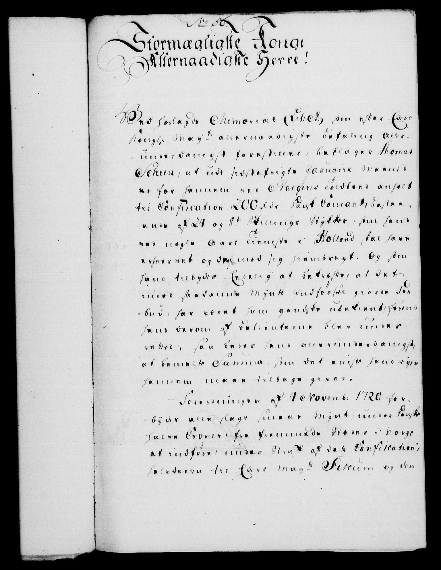 RA, Rentekammeret, Kammerkanselliet, G/Gf/Gfa/L0032: Norsk relasjons- og resolusjonsprotokoll (merket RK 52.32), 1750, s. 245