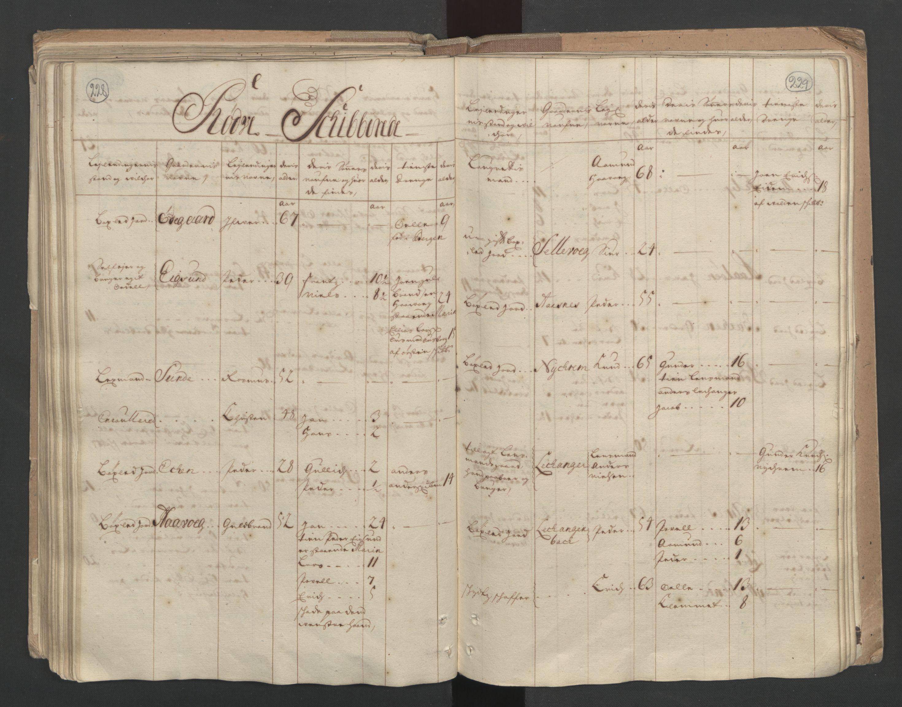 RA, Manntallet 1701, nr. 10: Sunnmøre fogderi, 1701, s. 228-229