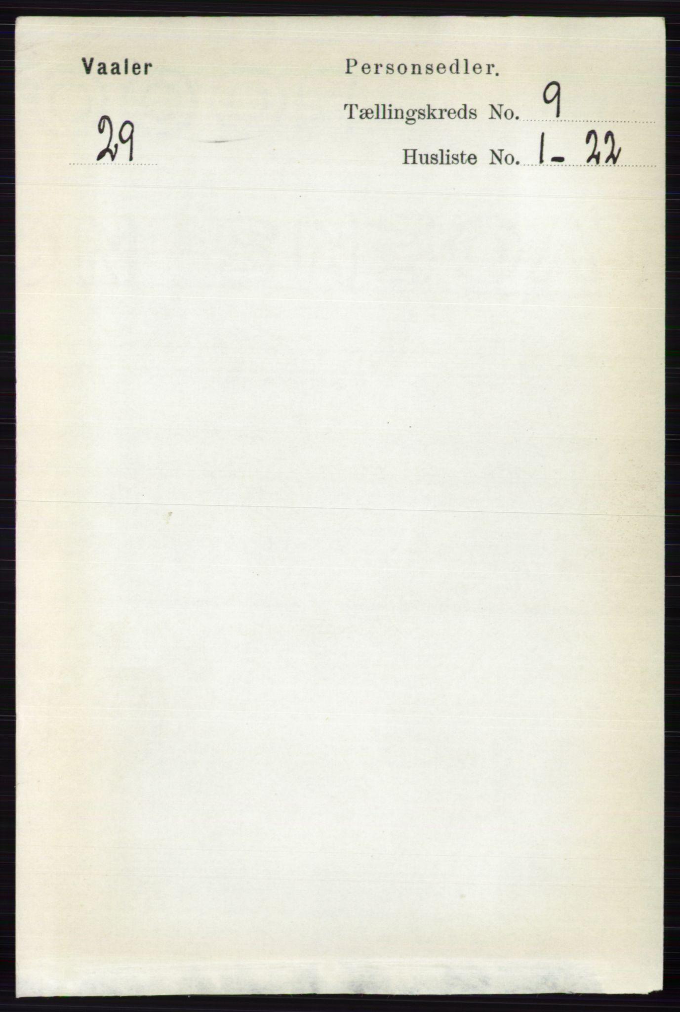 RA, Folketelling 1891 for 0426 Våler herred, 1891, s. 3853
