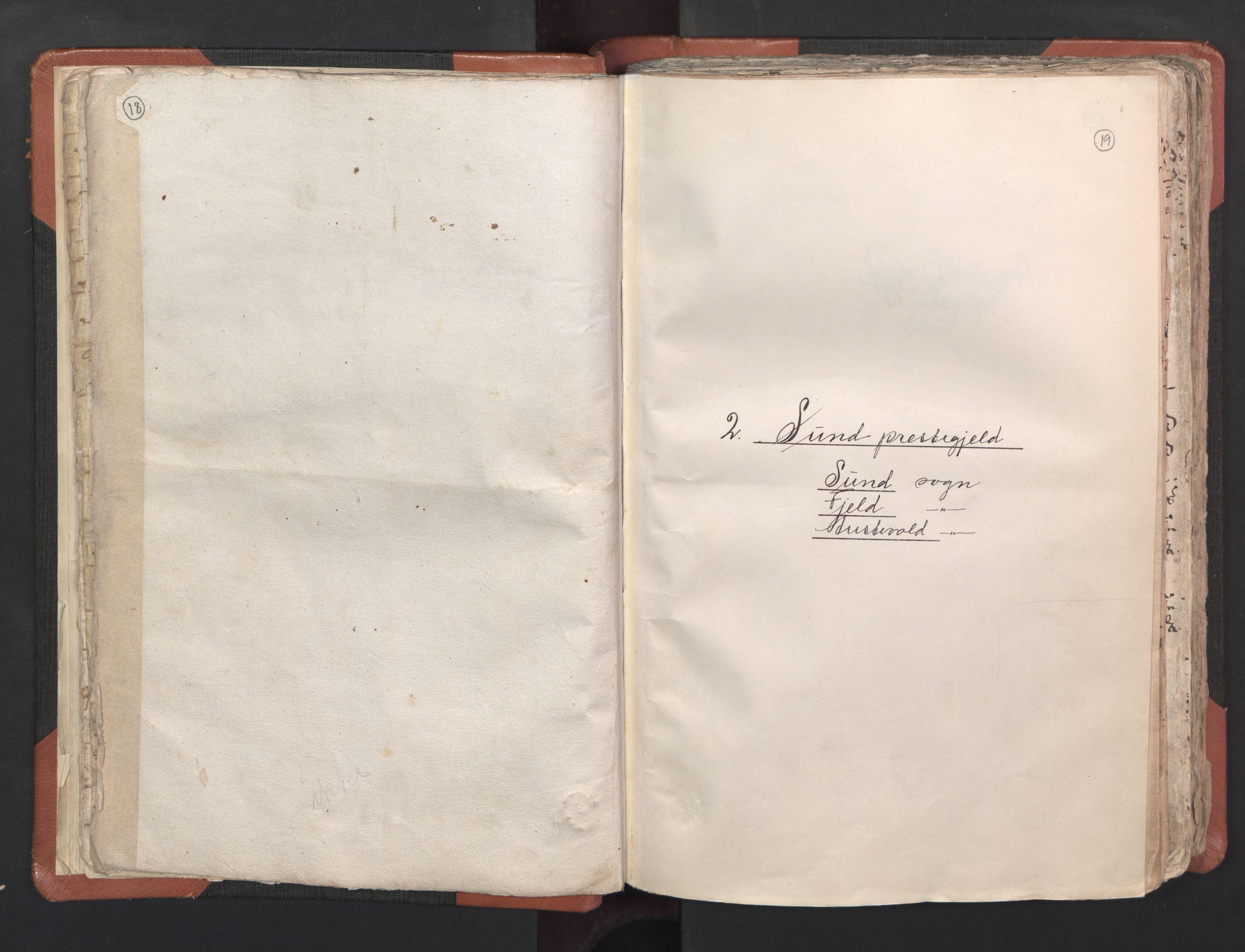 RA, Sogneprestenes manntall 1664-1666, nr. 22: Nordhordland prosti, 1664-1666, s. 18-19
