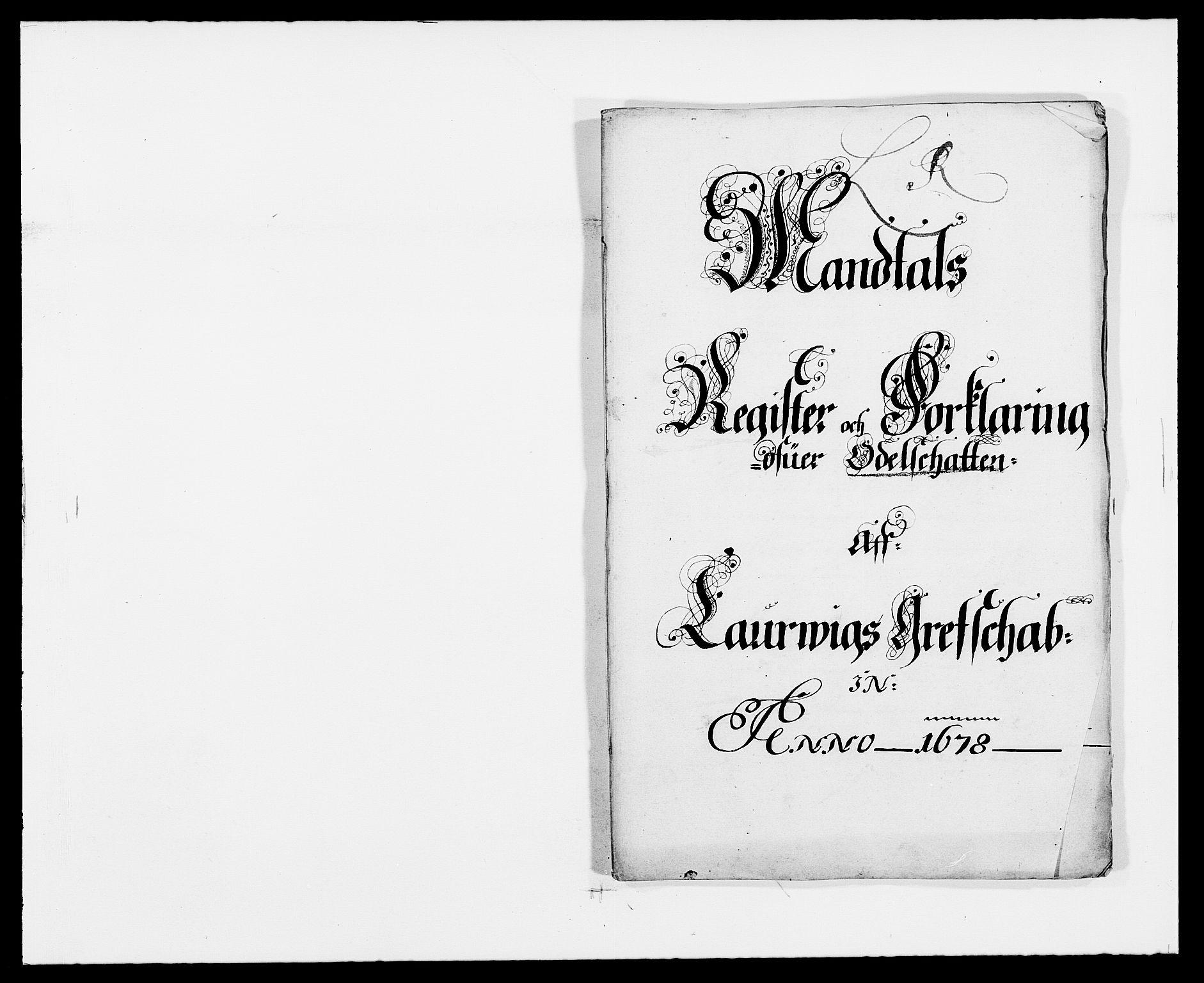 RA, Rentekammeret inntil 1814, Reviderte regnskaper, Fogderegnskap, R33/L1968: Fogderegnskap Larvik grevskap, 1675-1687, s. 160