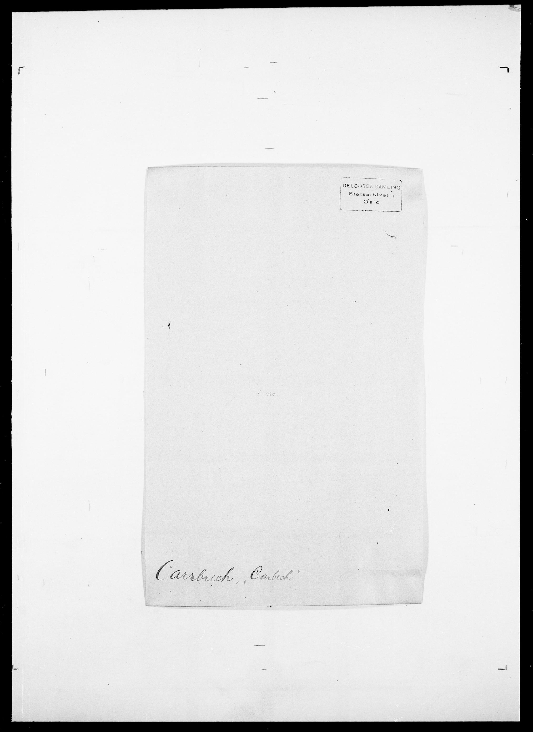 SAO, Delgobe, Charles Antoine - samling, D/Da/L0008: Capjon - Dagenbolt, s. 89