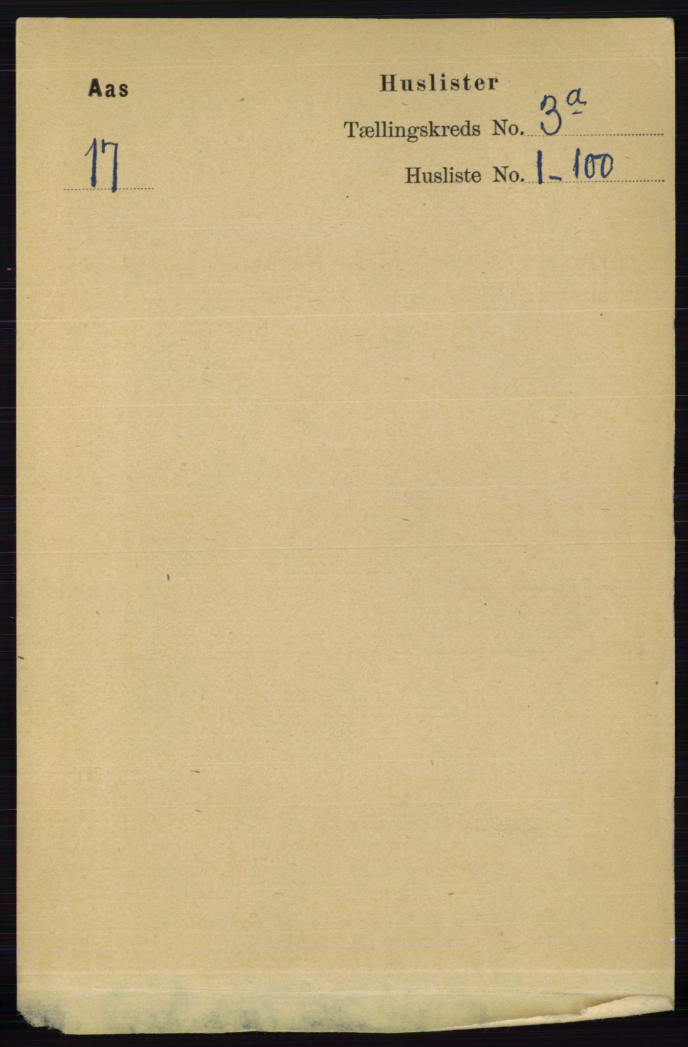 RA, Folketelling 1891 for 0214 Ås herred, 1891, s. 2024