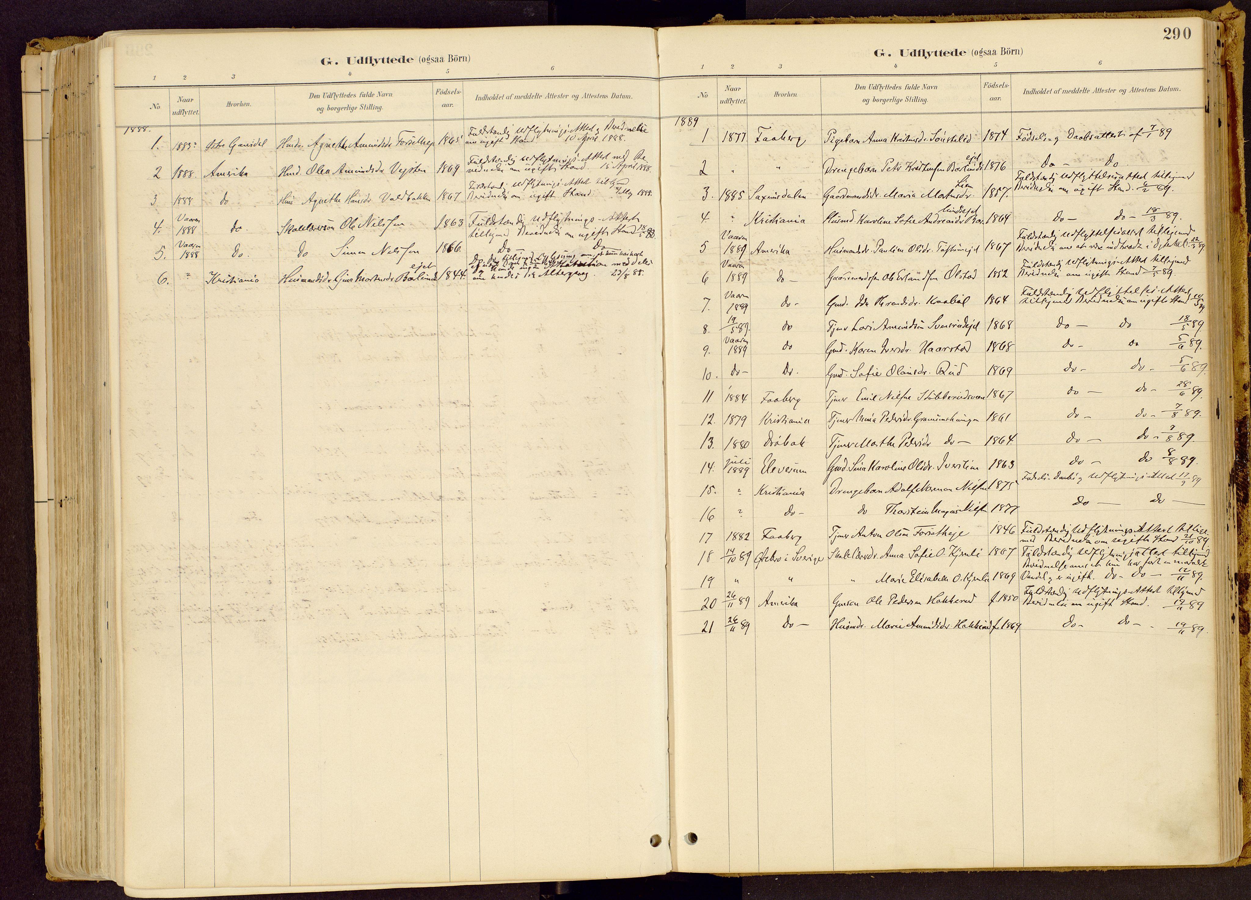 SAH, Vestre Gausdal prestekontor, Ministerialbok nr. 1, 1887-1914, s. 290