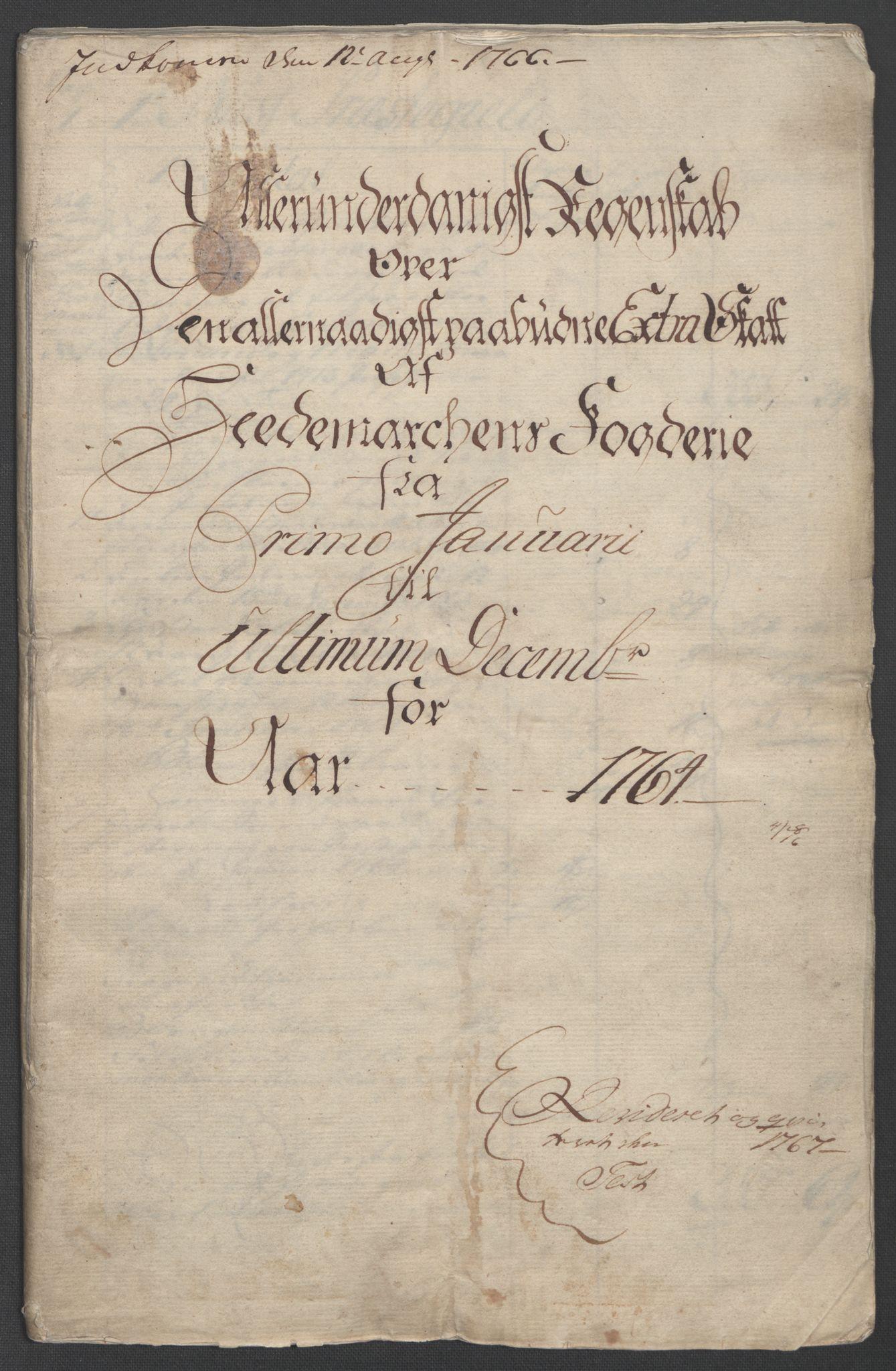 RA, Rentekammeret inntil 1814, Reviderte regnskaper, Fogderegnskap, R16/L1147: Ekstraskatten Hedmark, 1763-1764, s. 95