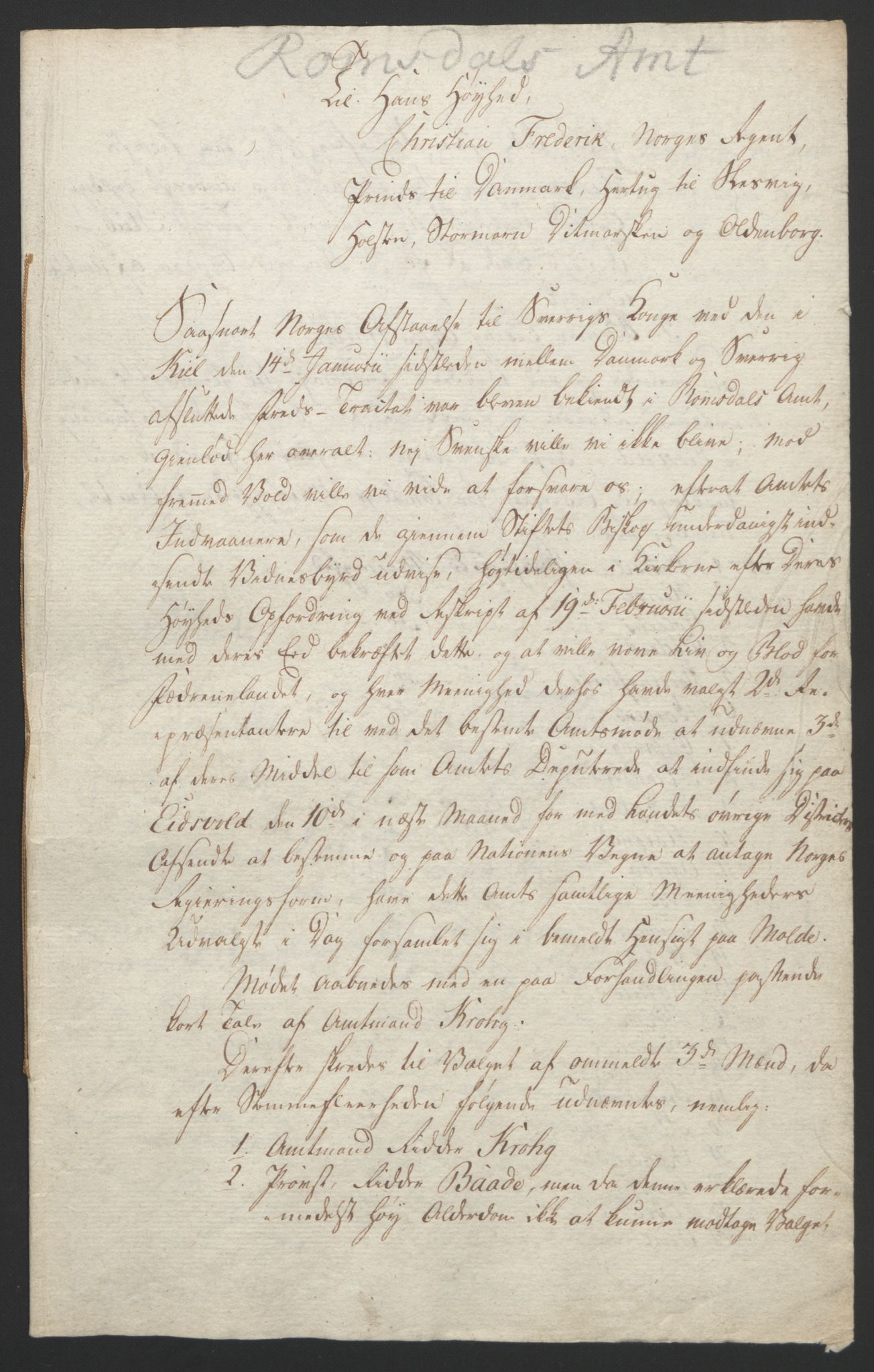 RA, Statsrådssekretariatet, D/Db/L0008: Fullmakter for Eidsvollsrepresentantene i 1814. , 1814, s. 348