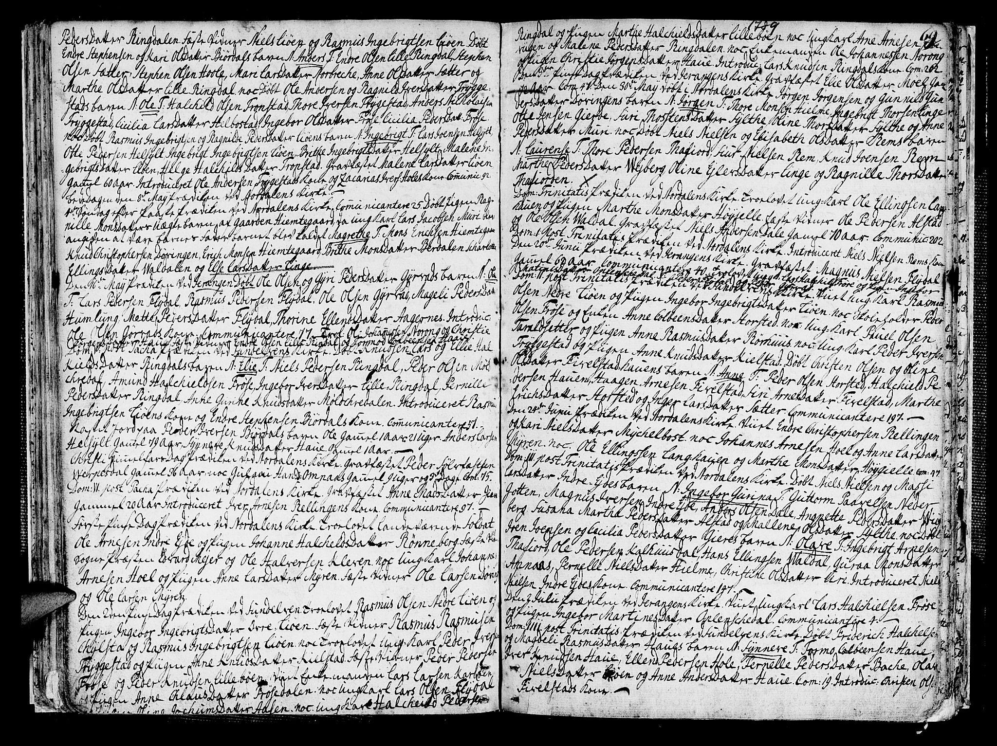 SAT, Ministerialprotokoller, klokkerbøker og fødselsregistre - Møre og Romsdal, 519/L0245: Ministerialbok nr. 519A04, 1774-1816, s. 69