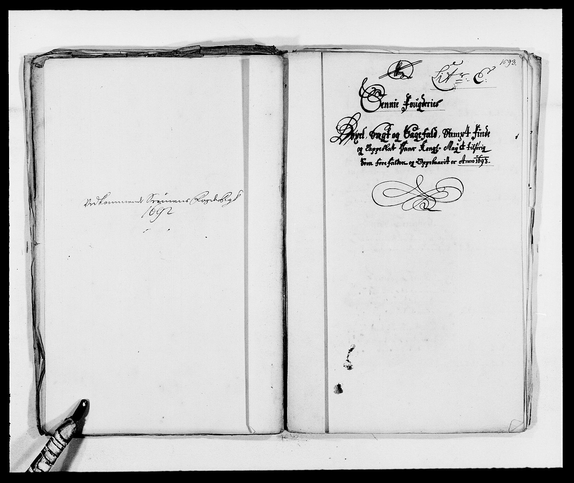 RA, Rentekammeret inntil 1814, Reviderte regnskaper, Fogderegnskap, R68/L4752: Fogderegnskap Senja og Troms, 1691-1693, s. 373