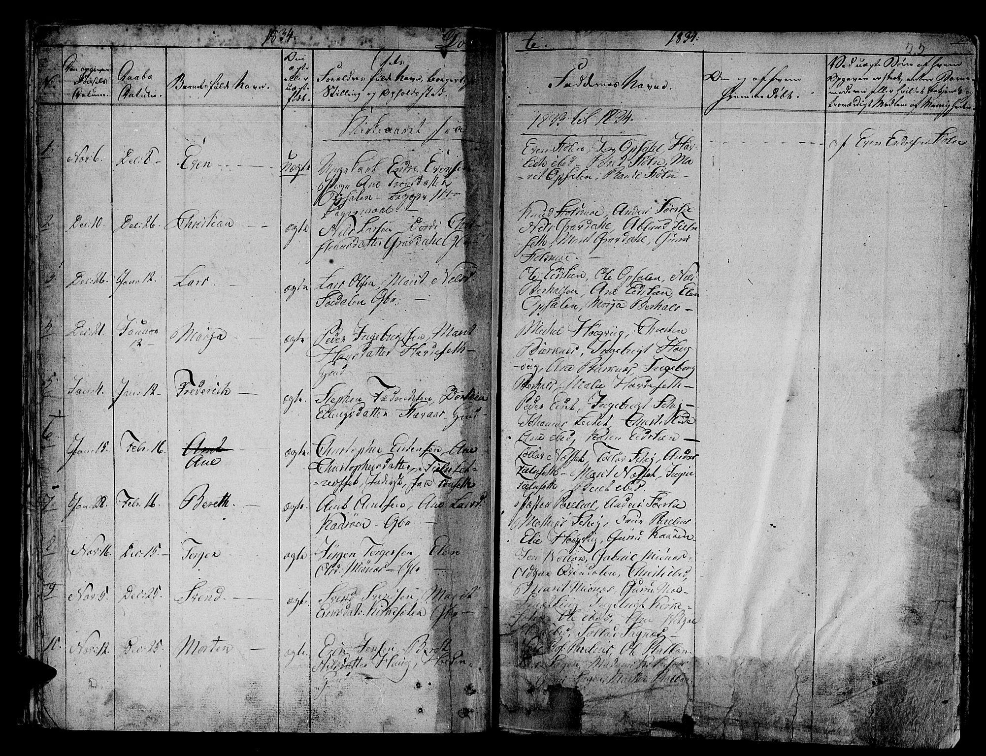 SAT, Ministerialprotokoller, klokkerbøker og fødselsregistre - Sør-Trøndelag, 630/L0492: Ministerialbok nr. 630A05, 1830-1840, s. 22
