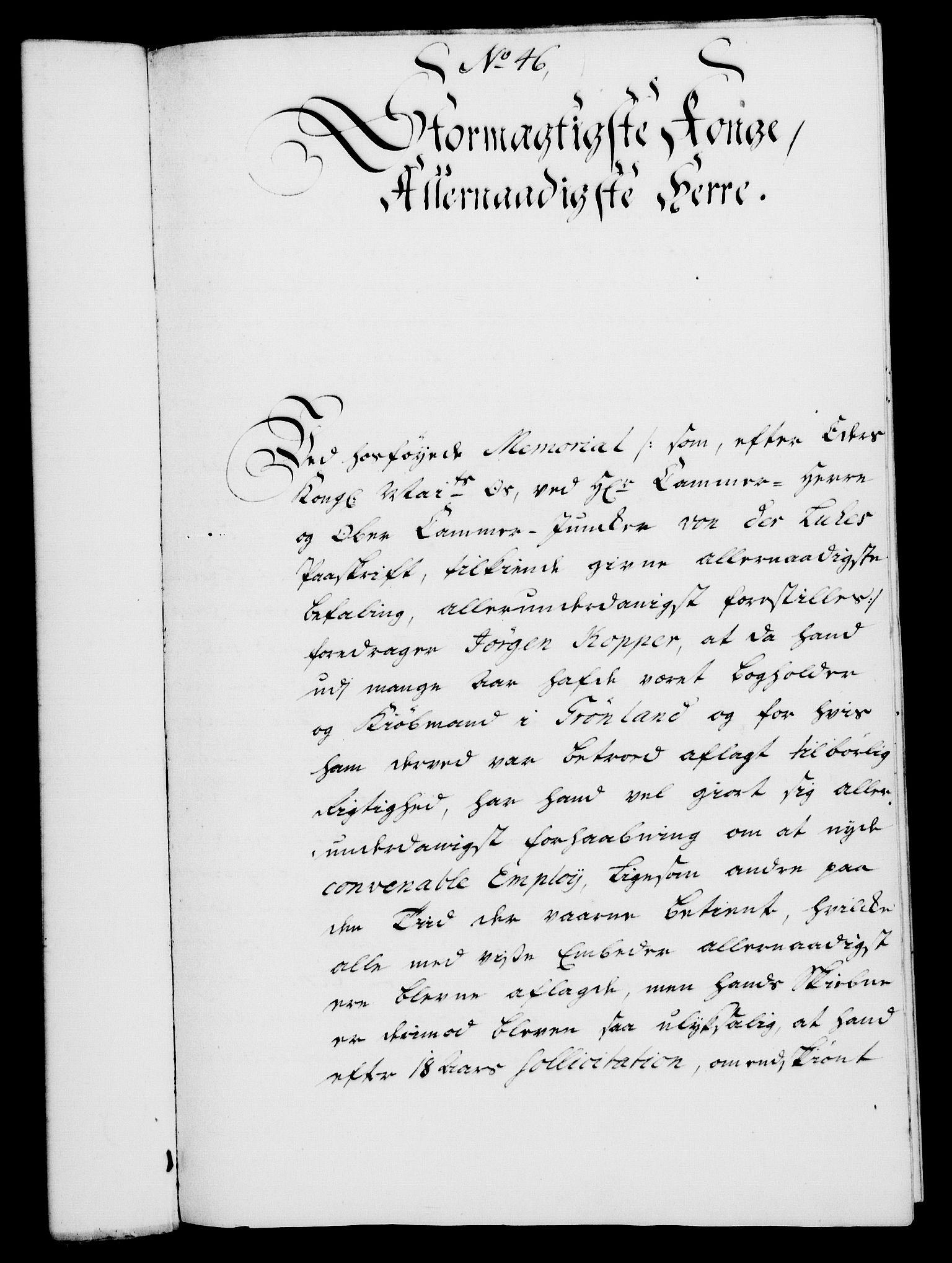 RA, Rentekammeret, Kammerkanselliet, G/Gf/Gfa/L0030: Norsk relasjons- og resolusjonsprotokoll (merket RK 52.30), 1748, s. 307