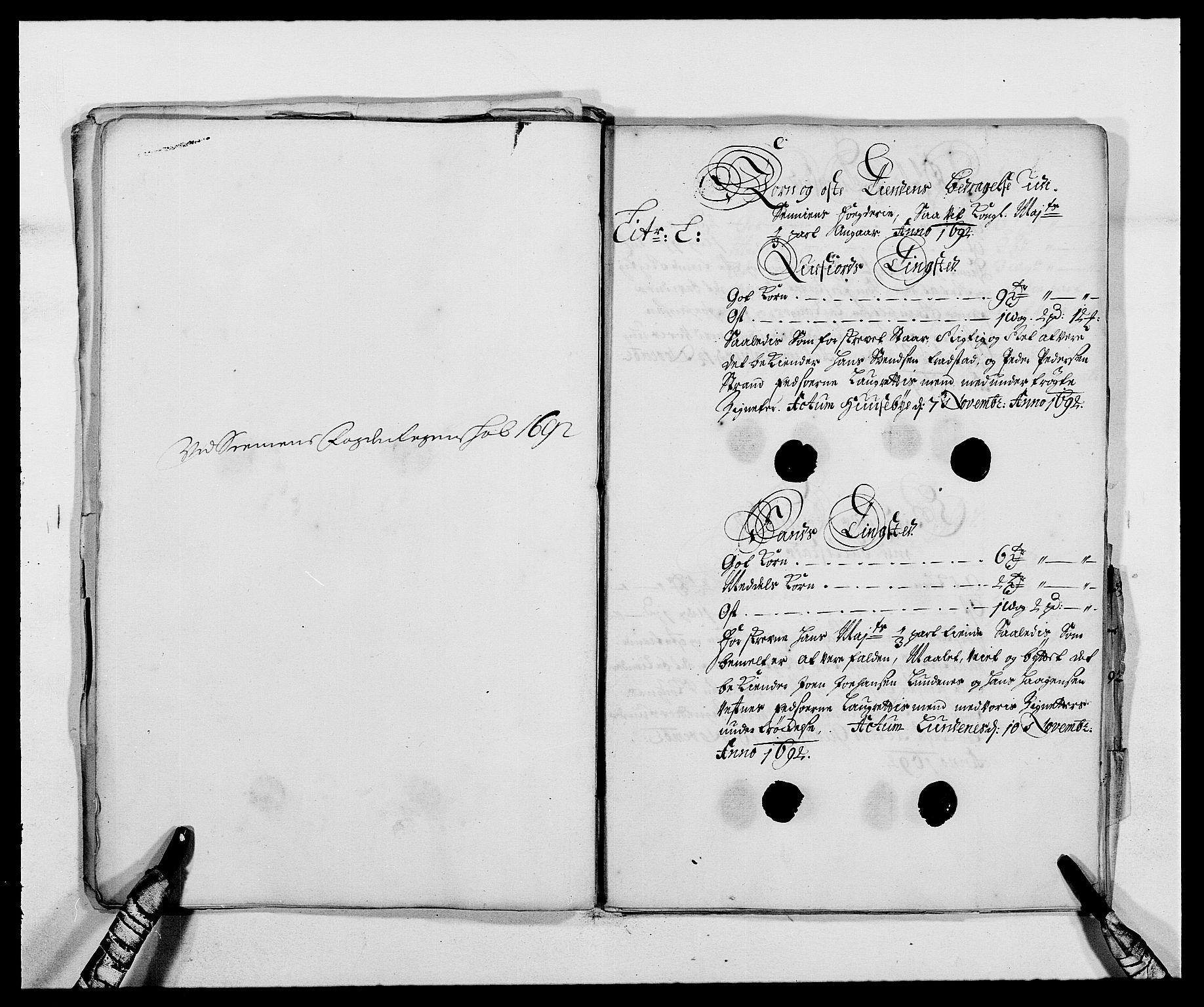 RA, Rentekammeret inntil 1814, Reviderte regnskaper, Fogderegnskap, R68/L4752: Fogderegnskap Senja og Troms, 1691-1693, s. 245