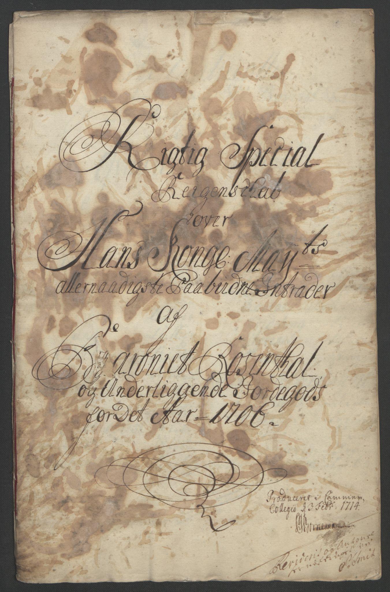 RA, Rentekammeret inntil 1814, Reviderte regnskaper, Fogderegnskap, R49/L3138: Fogderegnskap Rosendal Baroni, 1691-1714, s. 177