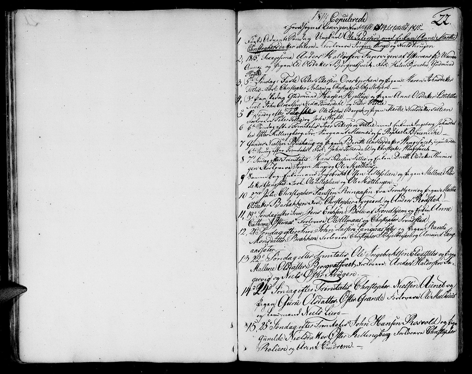 SAT, Ministerialprotokoller, klokkerbøker og fødselsregistre - Nord-Trøndelag, 701/L0004: Ministerialbok nr. 701A04, 1783-1816, s. 22