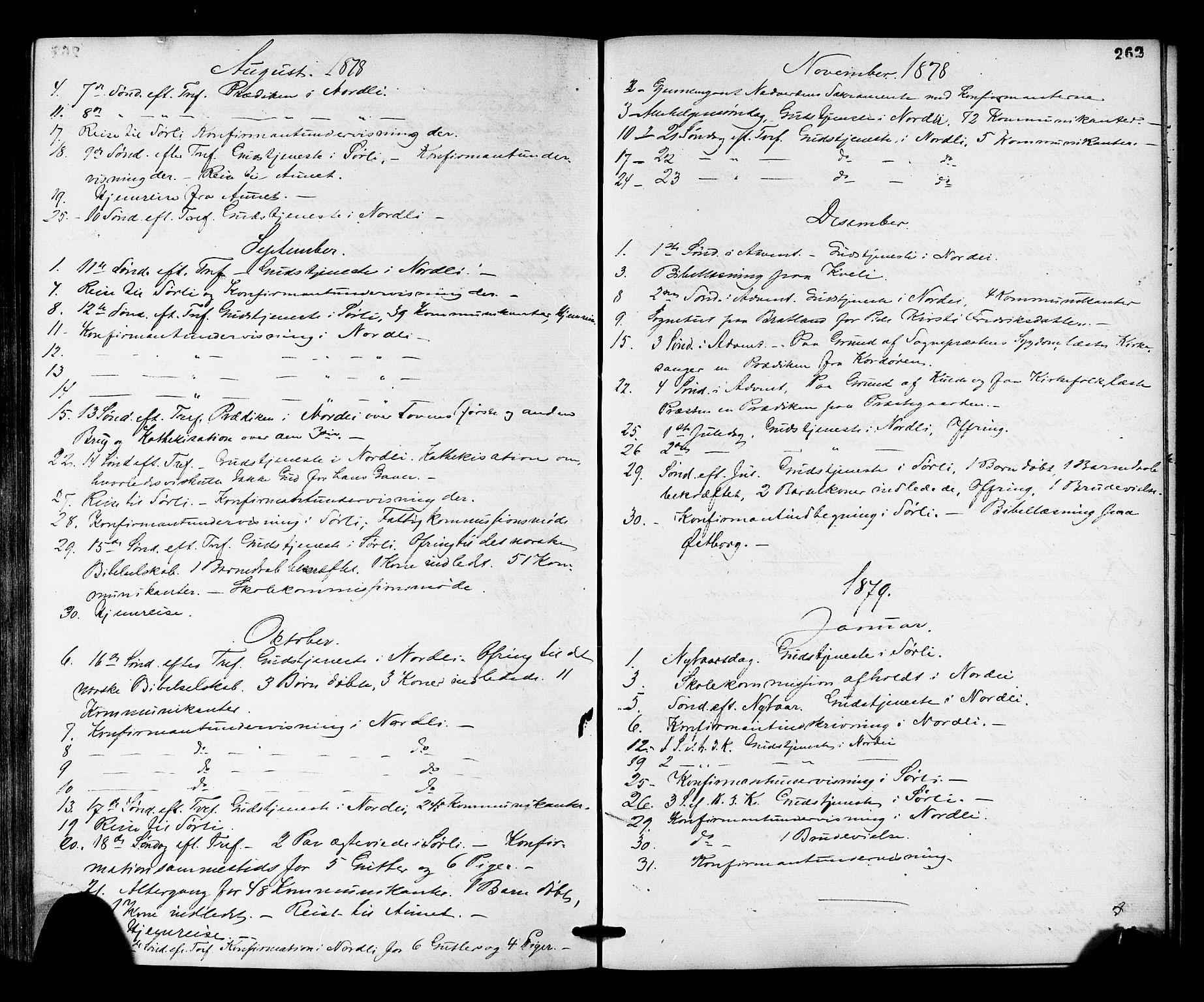 SAT, Ministerialprotokoller, klokkerbøker og fødselsregistre - Nord-Trøndelag, 755/L0493: Ministerialbok nr. 755A02, 1865-1881, s. 262