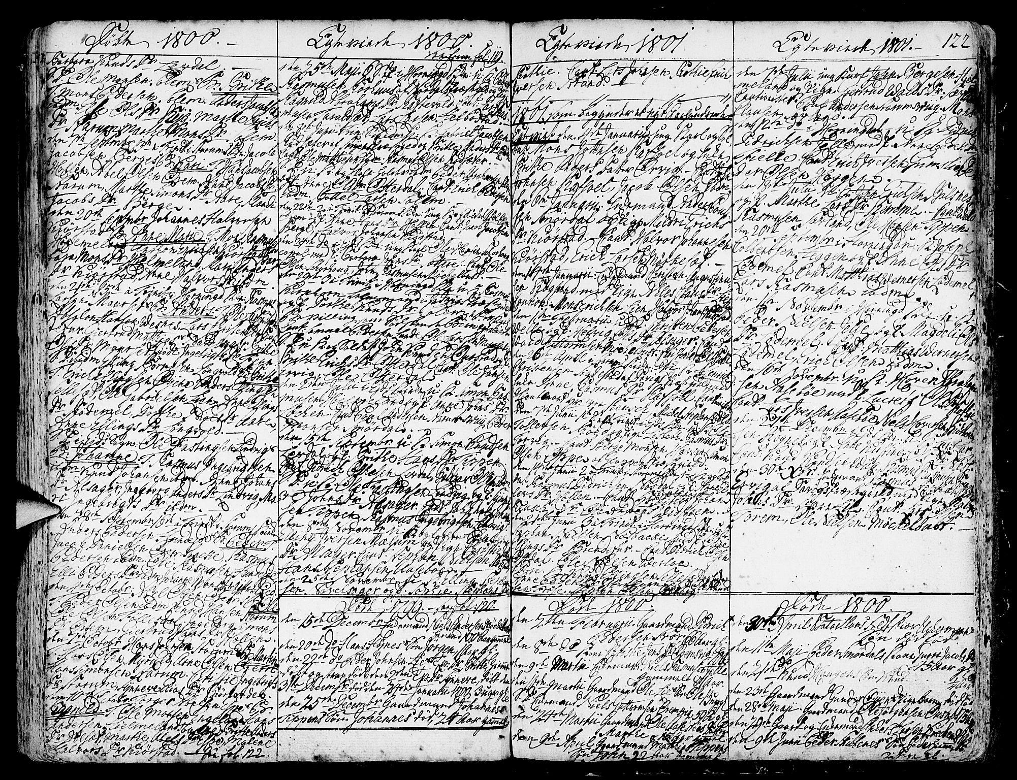 SAB, Eid Sokneprestembete, H/Haa: Ministerialbok nr. A 3, 1770-1805, s. 122
