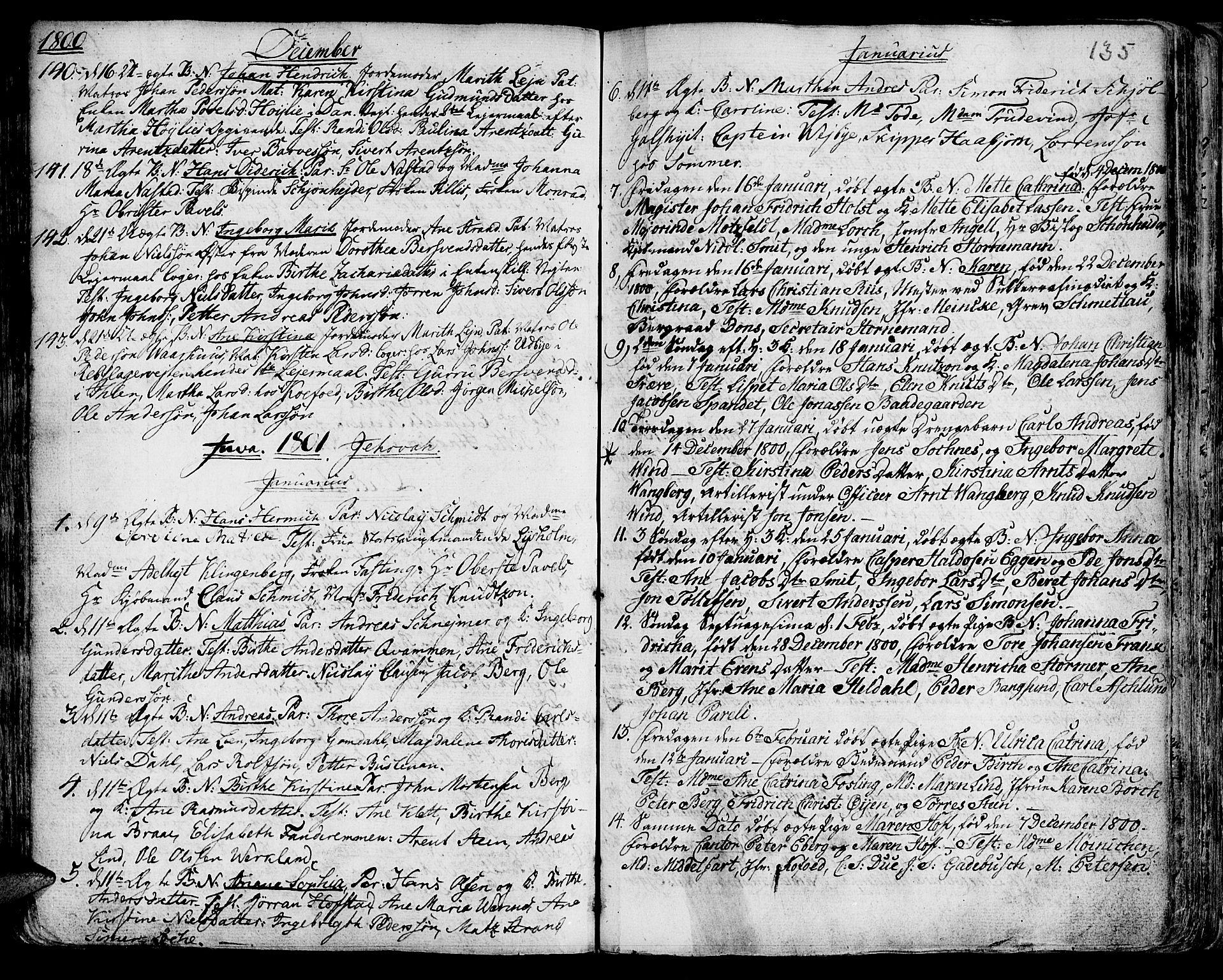 SAT, Ministerialprotokoller, klokkerbøker og fødselsregistre - Sør-Trøndelag, 601/L0039: Ministerialbok nr. 601A07, 1770-1819, s. 135