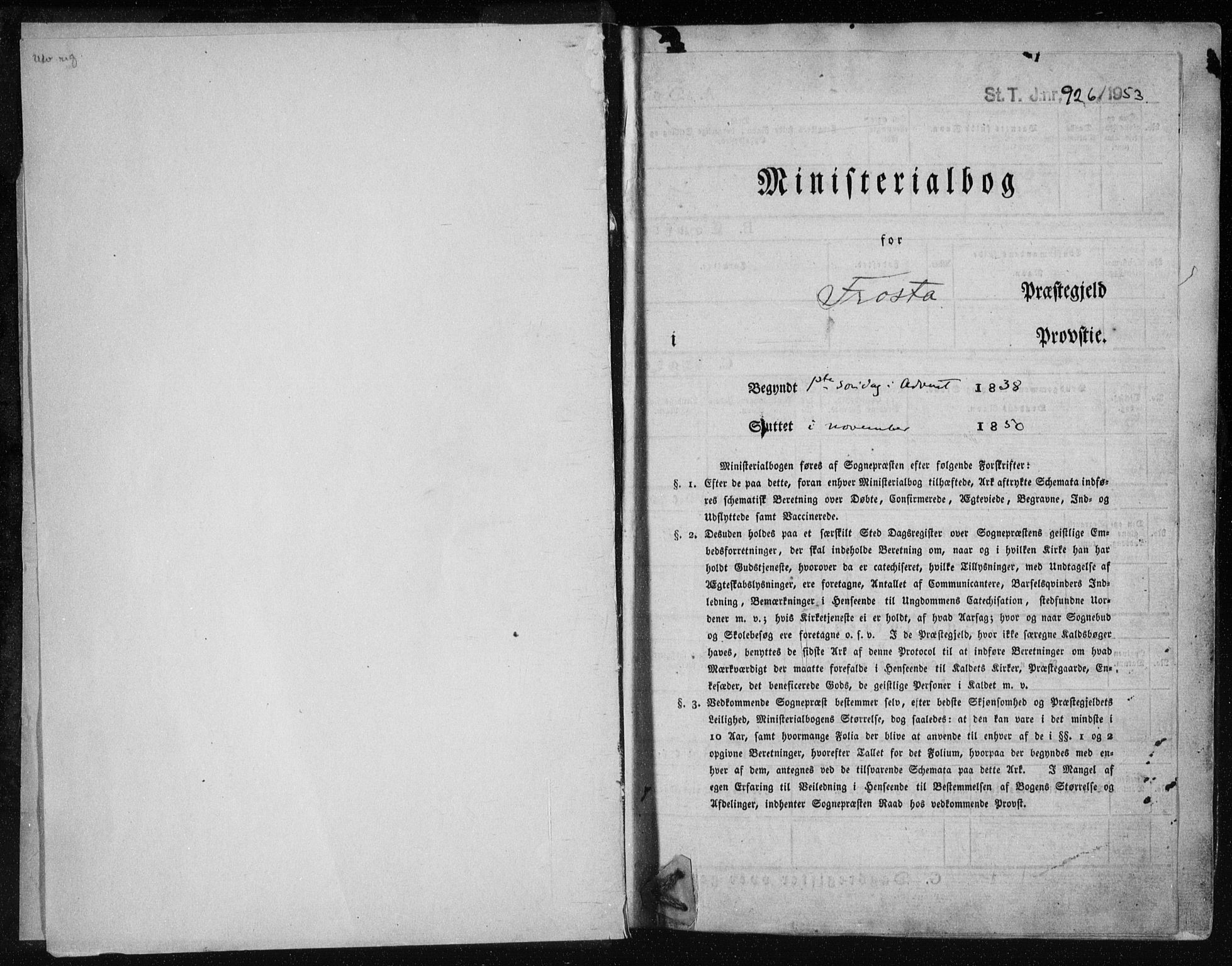 SAT, Ministerialprotokoller, klokkerbøker og fødselsregistre - Nord-Trøndelag, 713/L0115: Ministerialbok nr. 713A06, 1838-1851