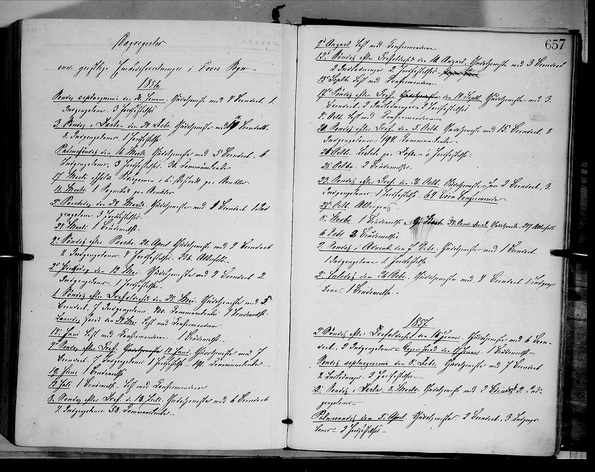 SAH, Dovre prestekontor, Ministerialbok nr. 1, 1854-1878, s. 657
