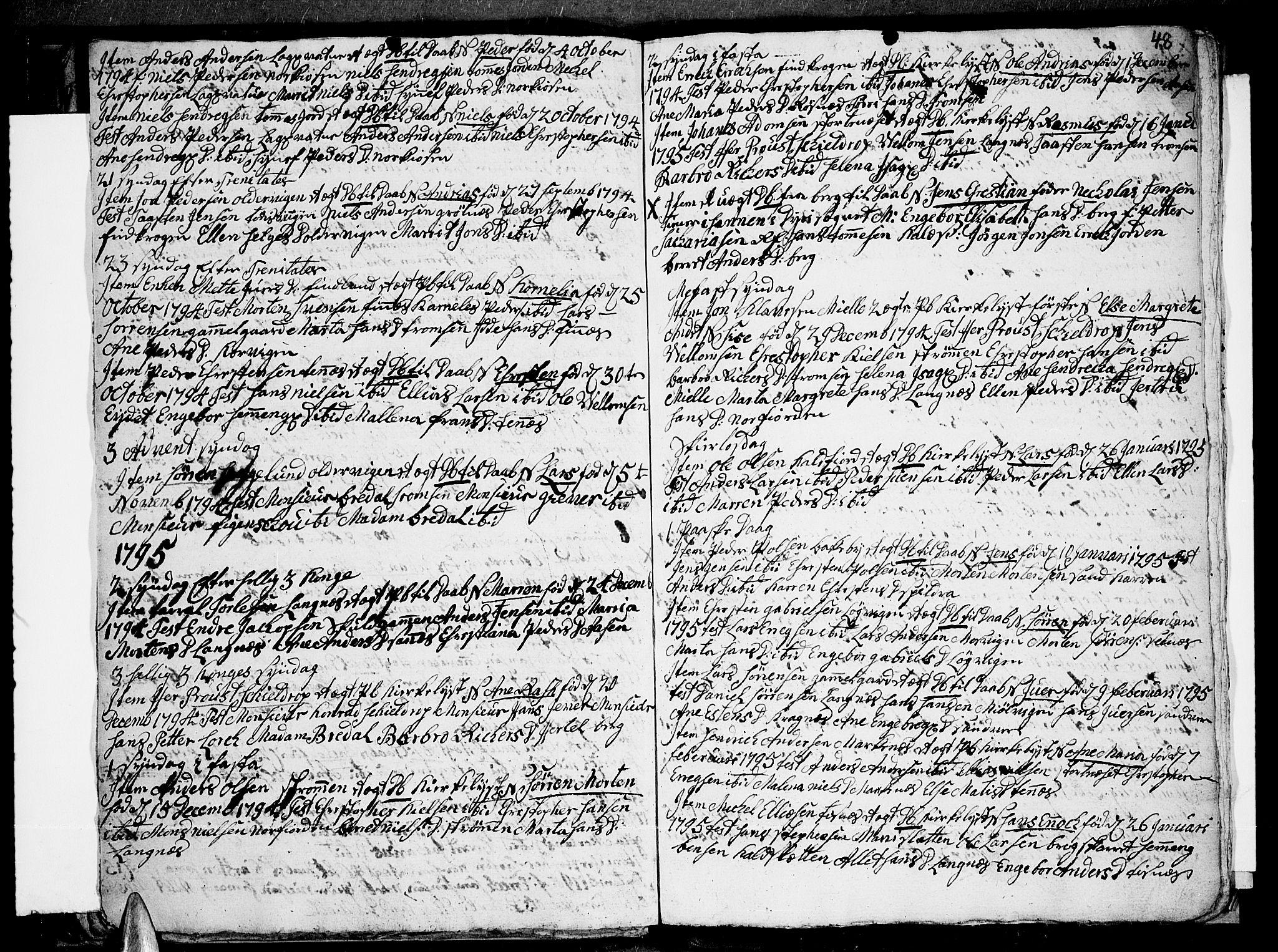 SATØ, Tromsø sokneprestkontor/stiftsprosti/domprosti, G/Ga/L0004kirke: Ministerialbok nr. 4, 1787-1795, s. 48